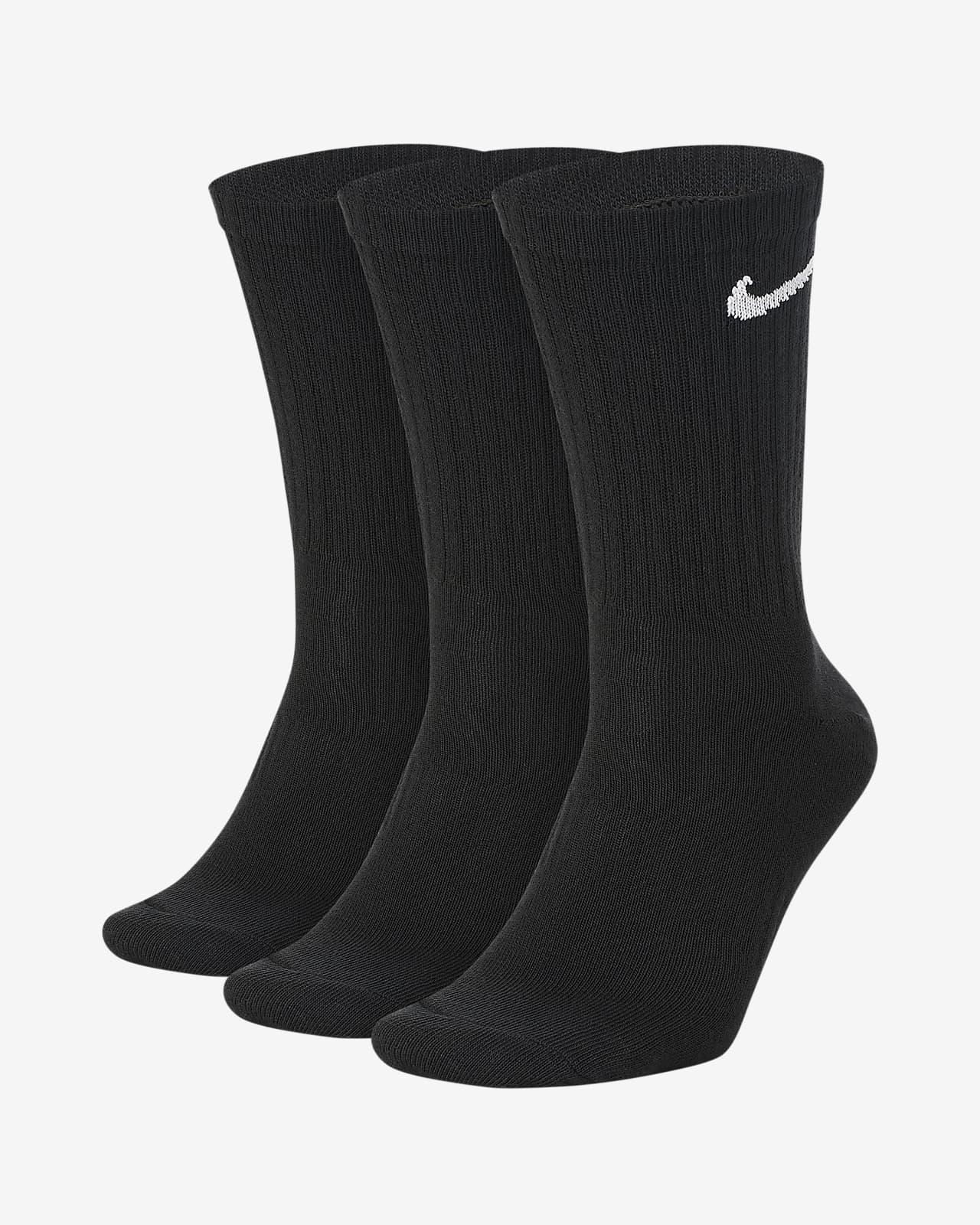 Nike Everyday Lightweight Crew Antrenman Çorapları (3 Çift)