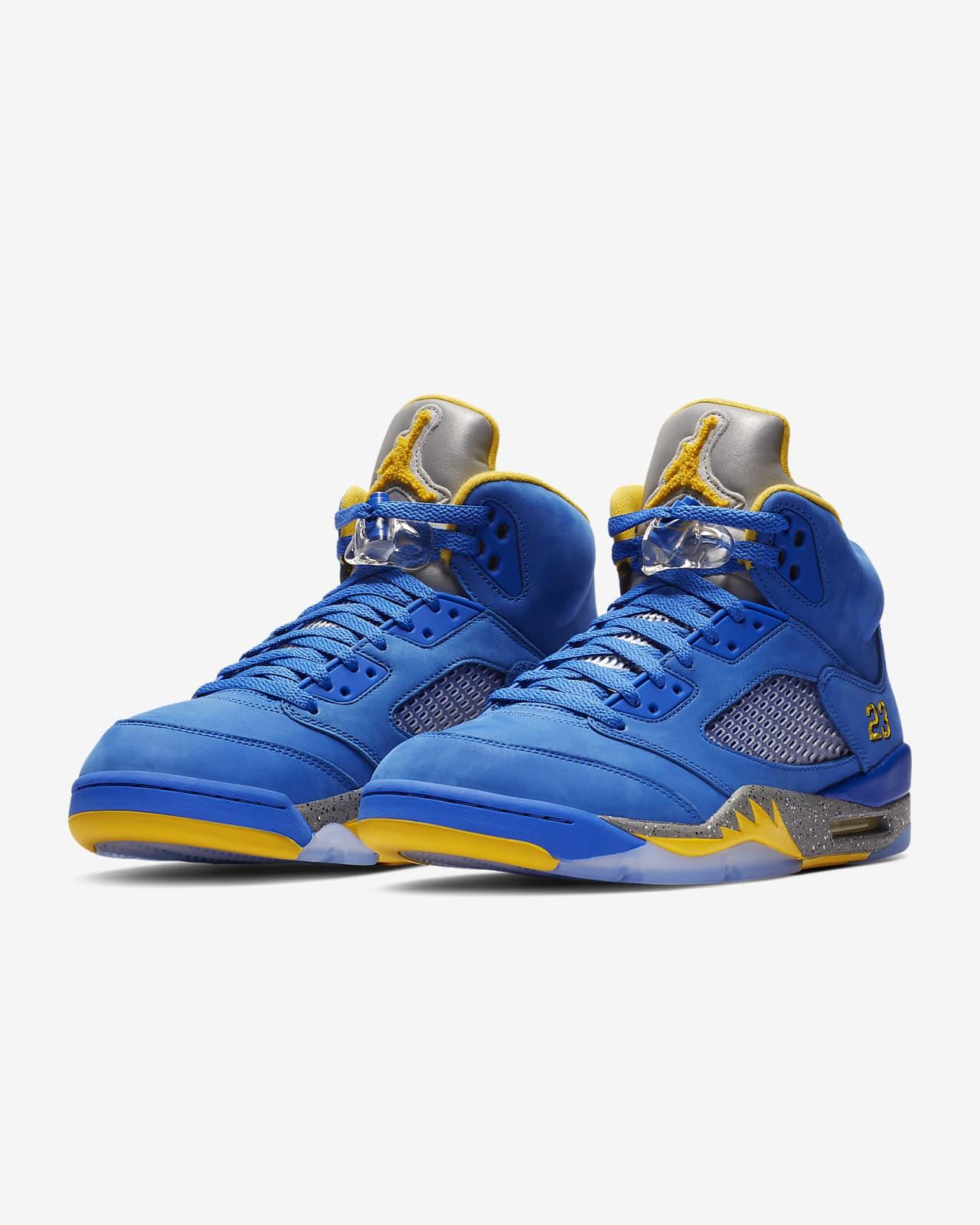 Air Jordan 5 Laney JSP Men's Shoe. Nike ID