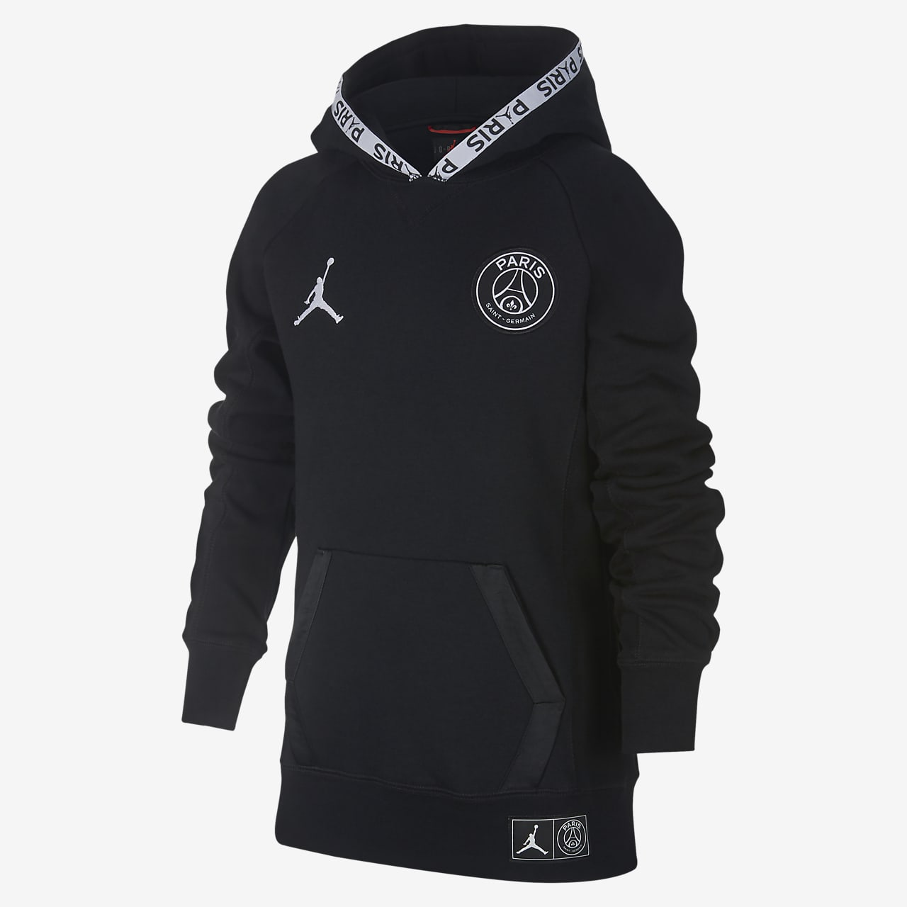 PSG Older Kids' (Boys') Fleece Pullover Hoodie