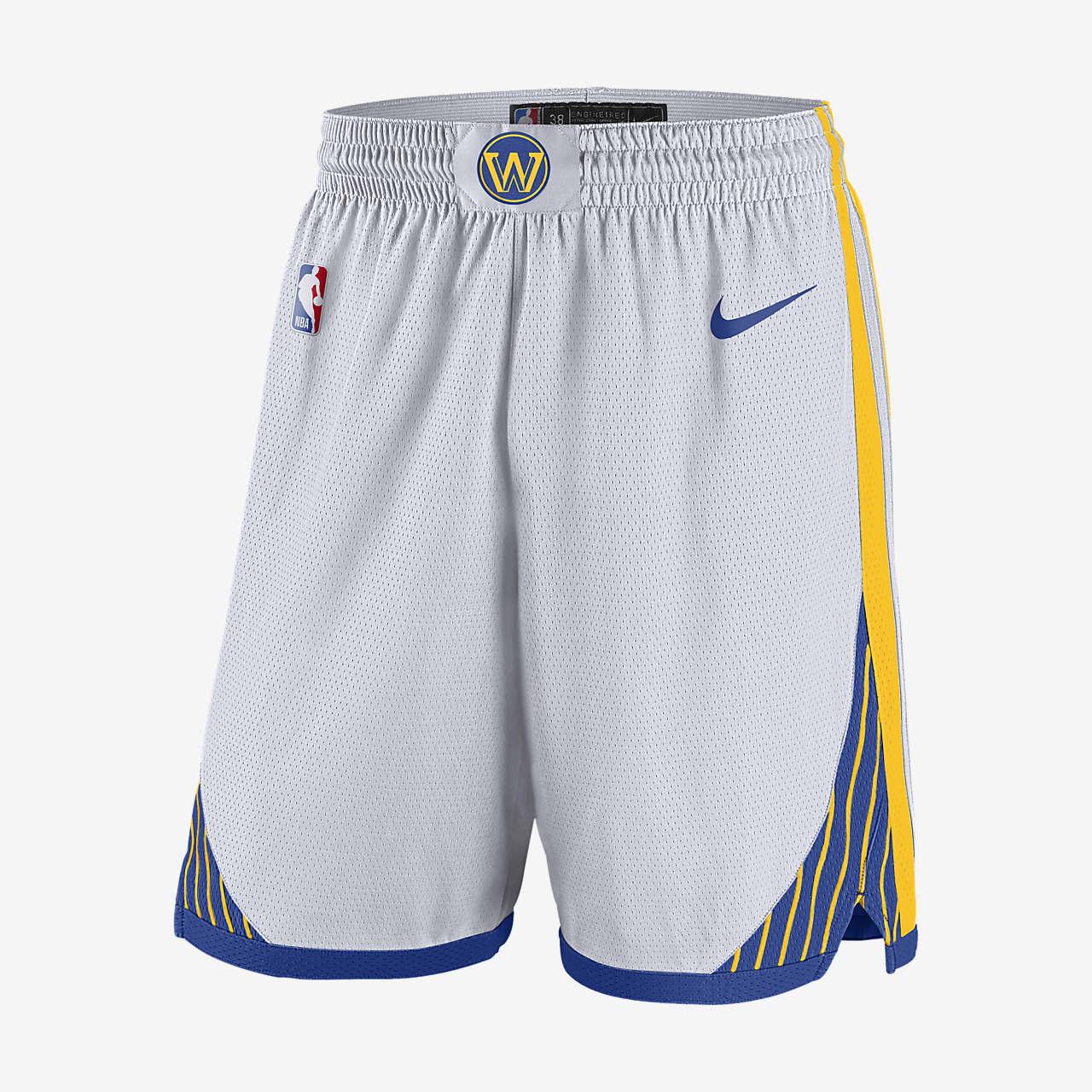 Short Nike NBA Swingman Golden State Warriors pour Homme