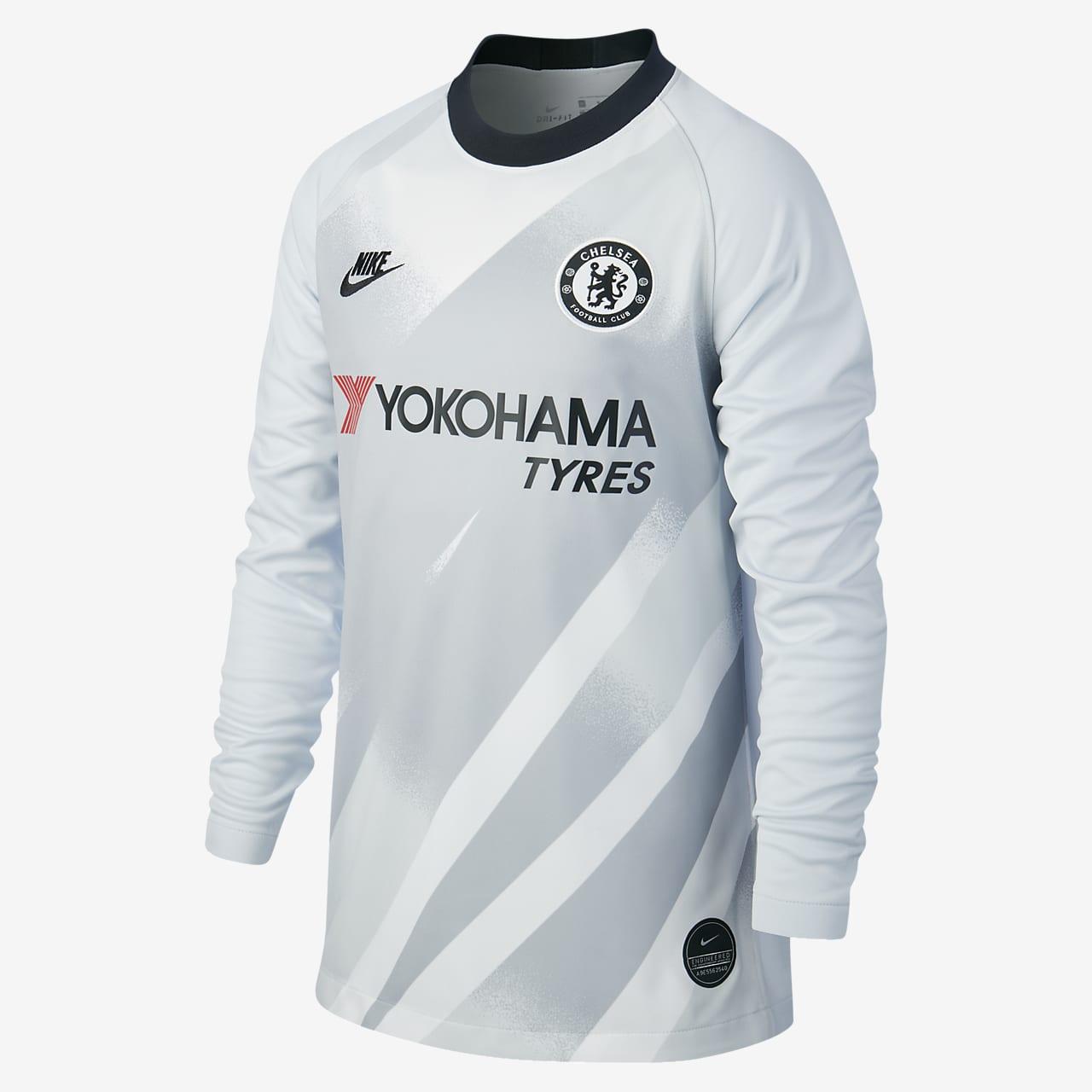 Chelsea FC 2019/20 Stadium Goalkeeper futballmez nagyobb gyerekeknek