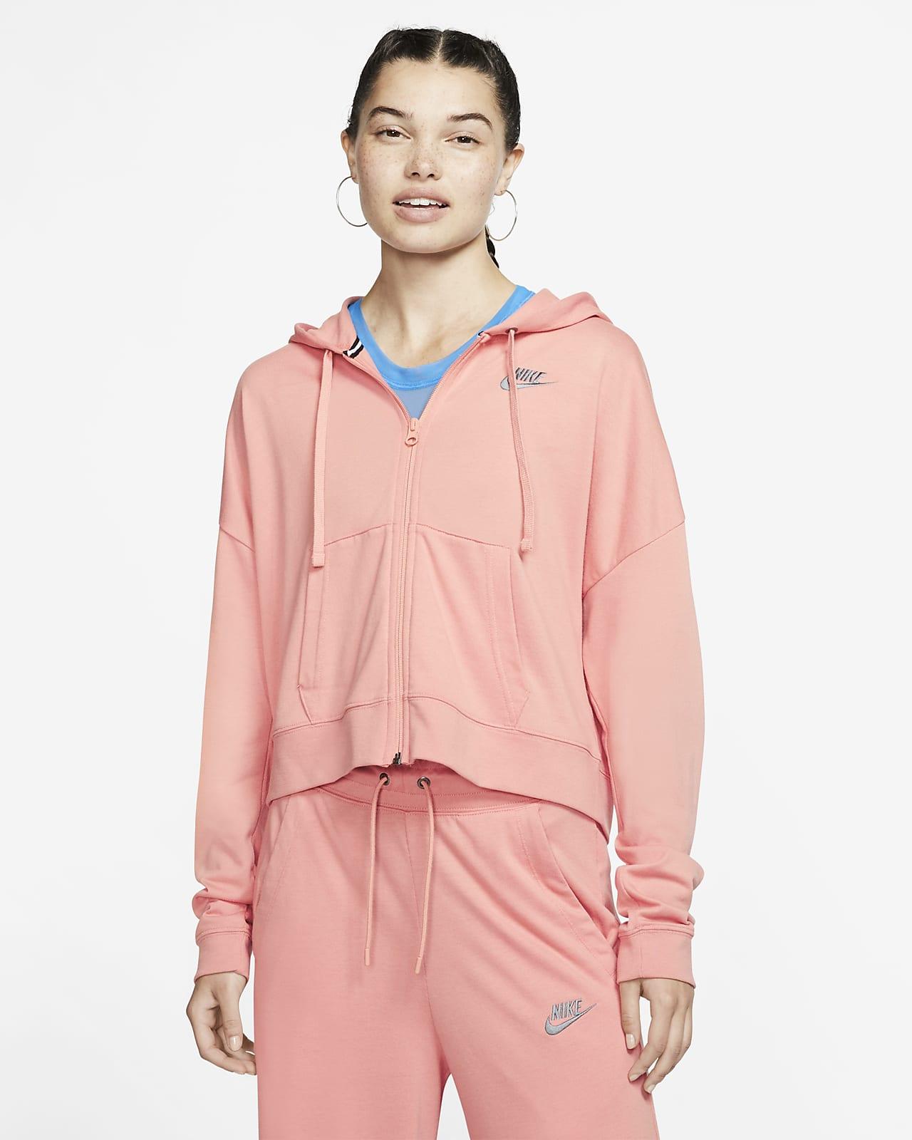 Sudadera con capucha de cierre completo para mujer Nike Sportswear
