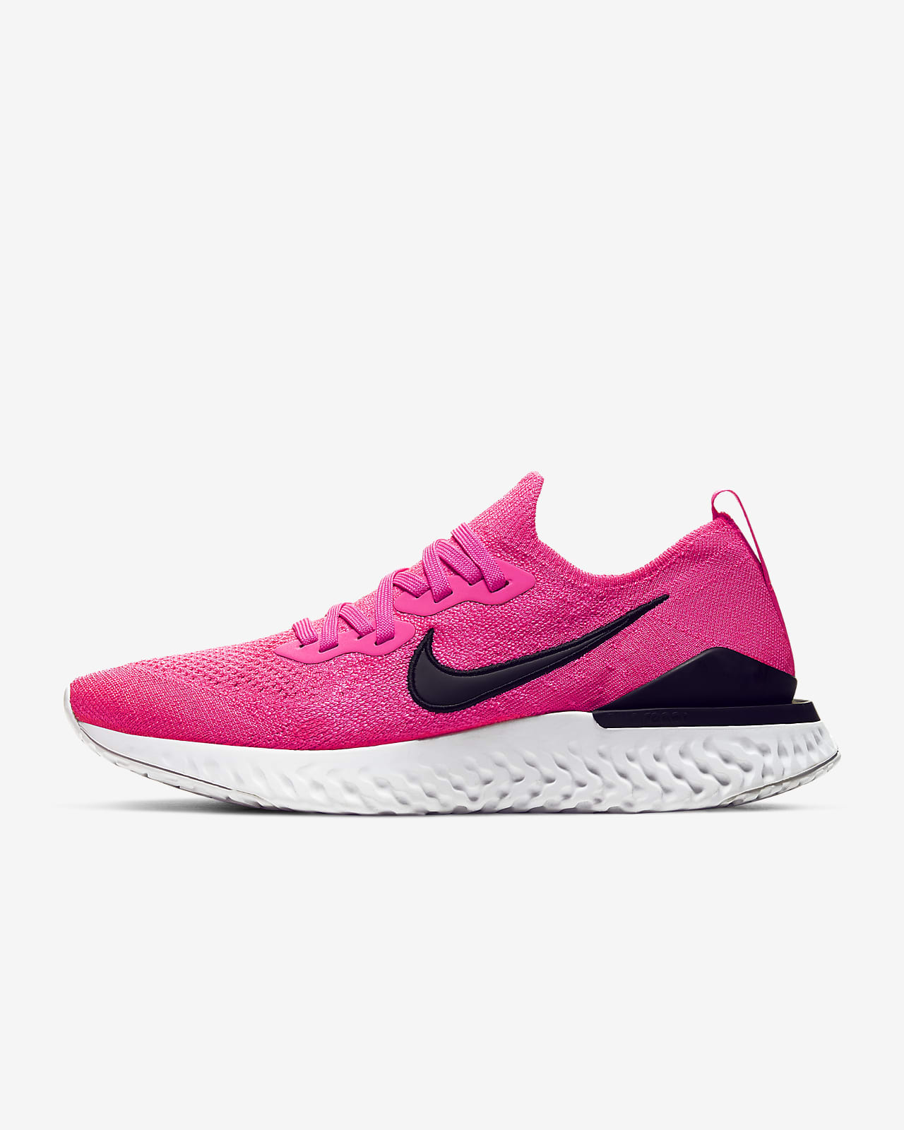 nike running epic react flyknit trainers