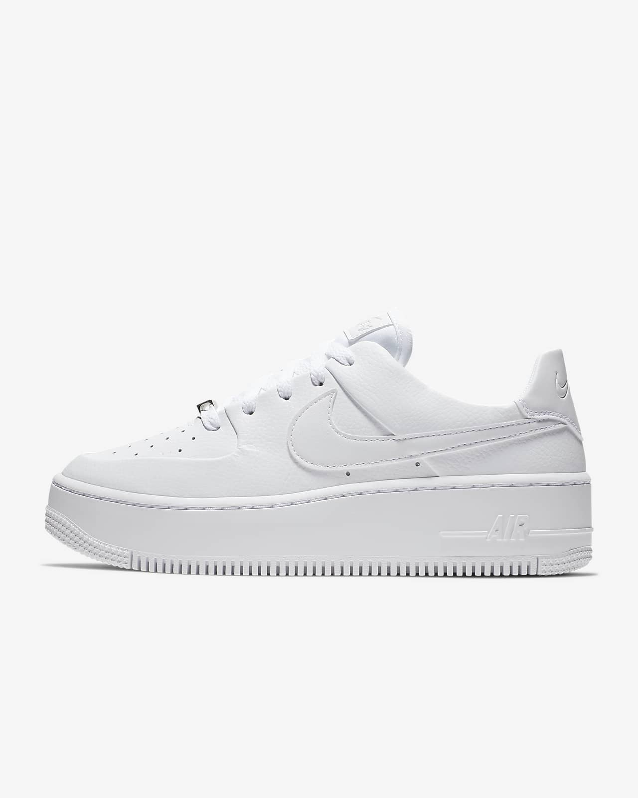 nike air force 1 sage bianche