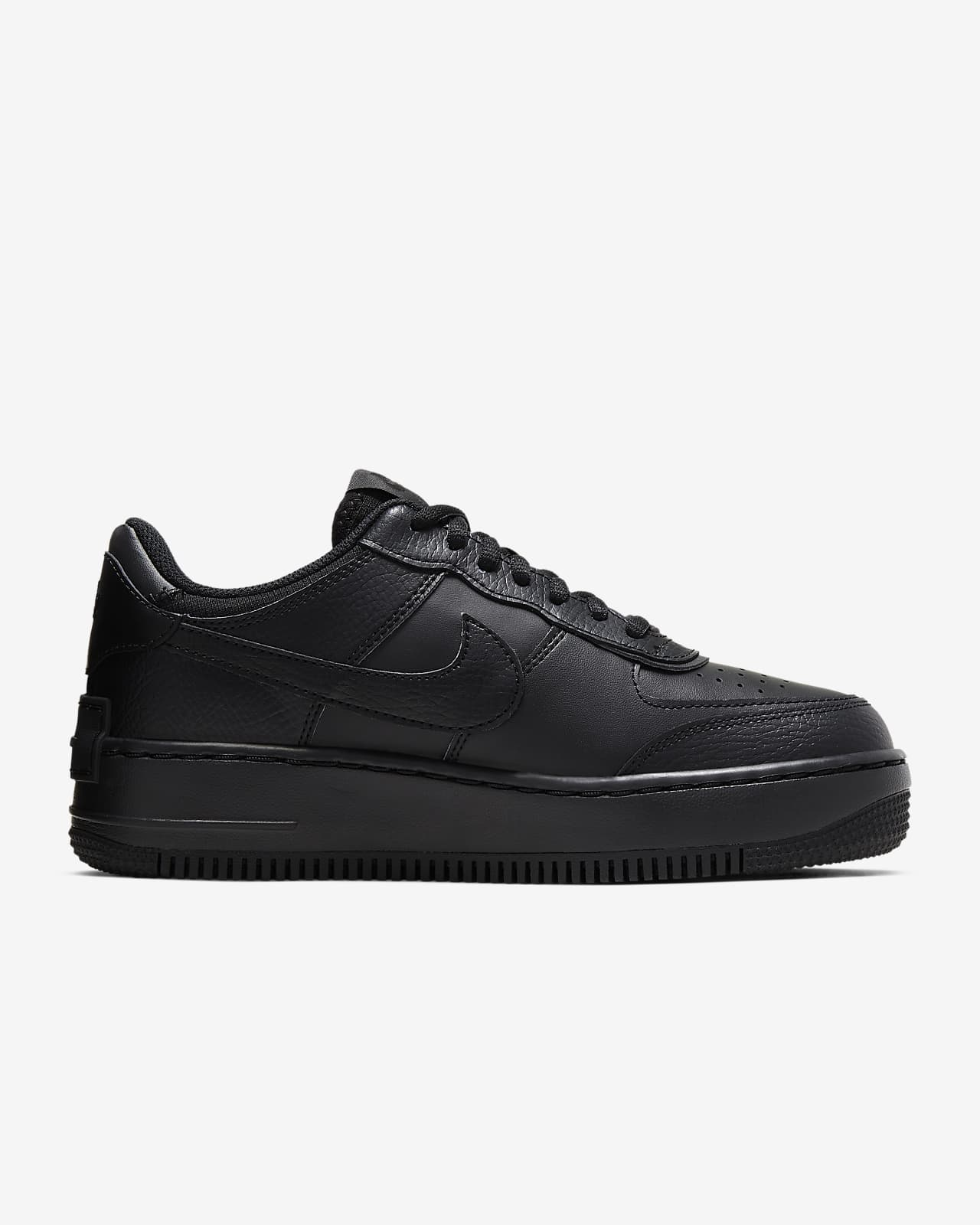 nike schwarz air force