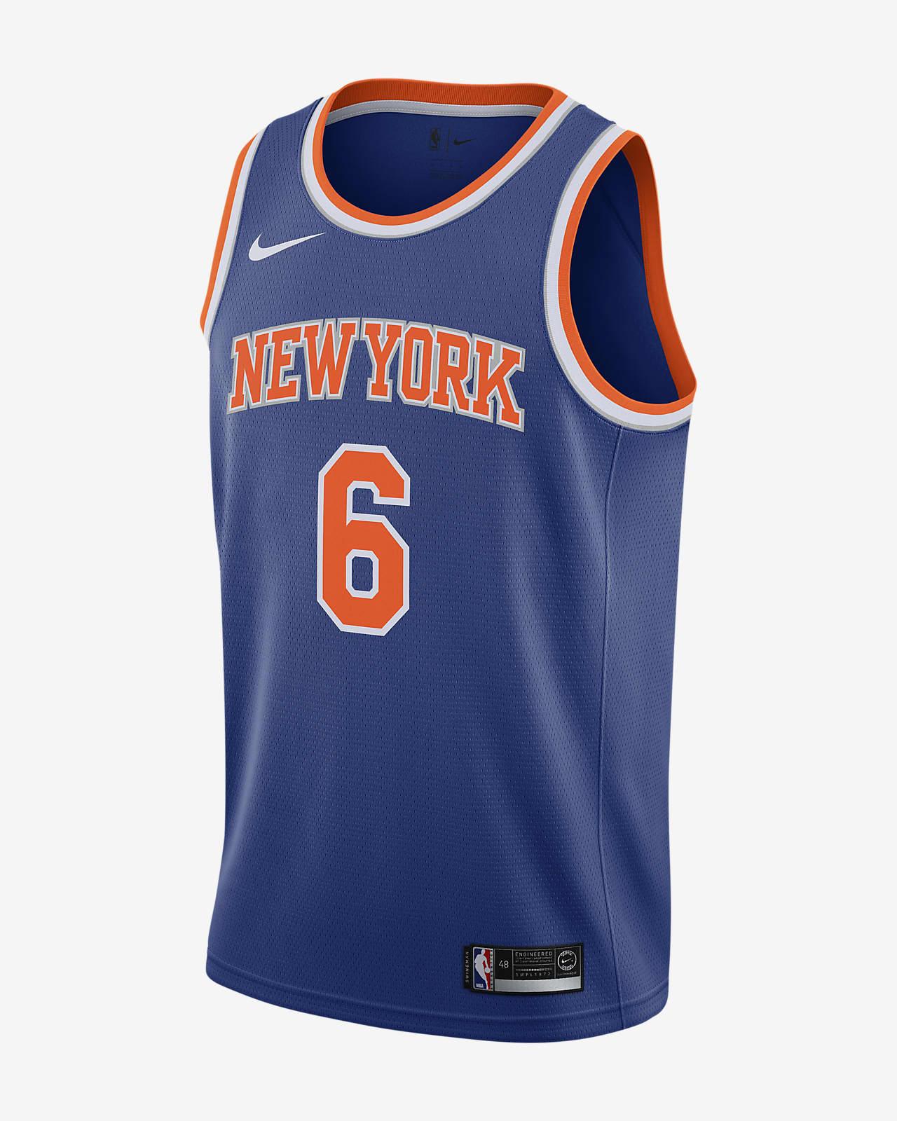 Kristaps Porzingis Knicks Icon Edition Swingman Nike NBA-jersey