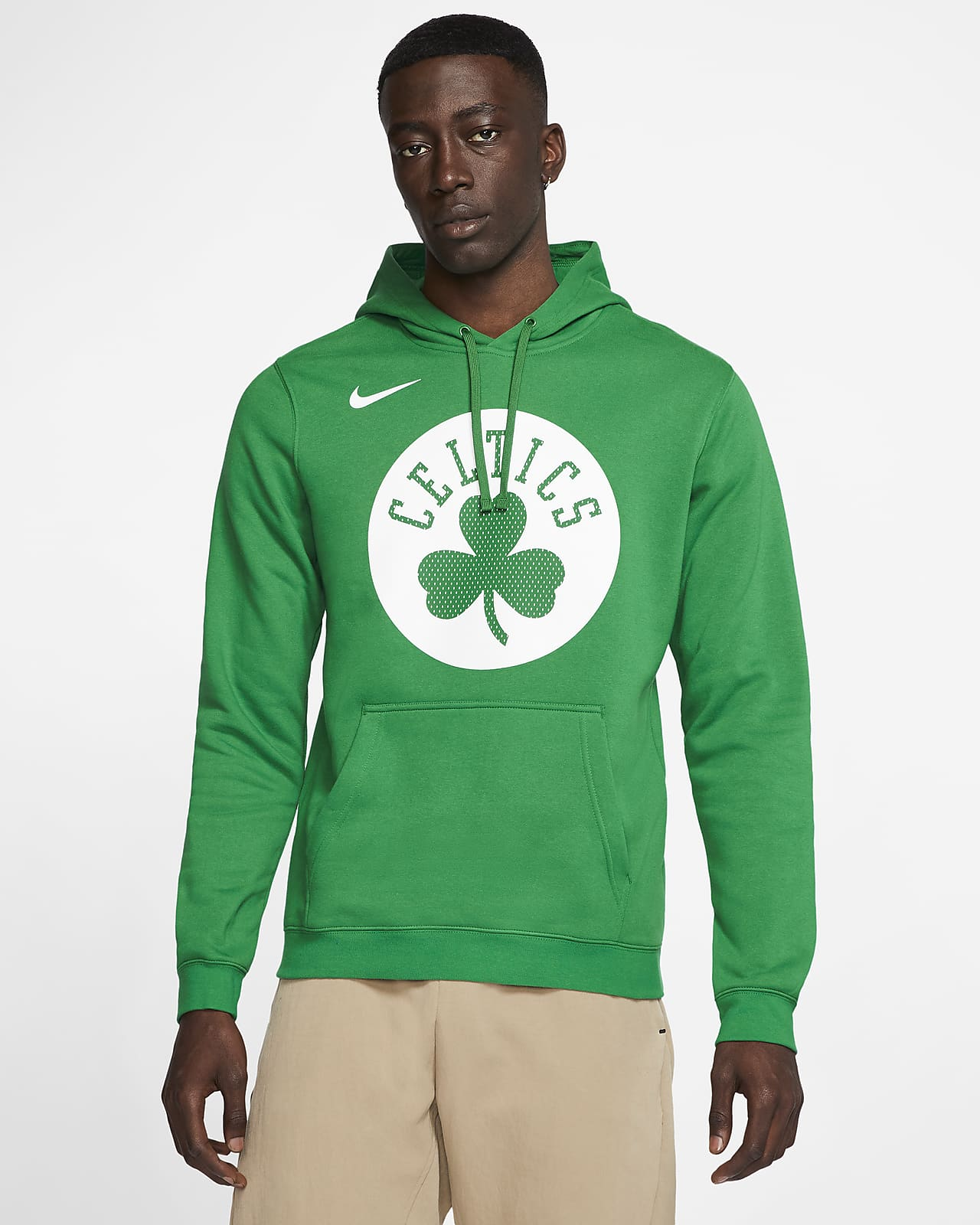 Boston Celtics Logo Men S Nike Nba Hoodie Nike Com