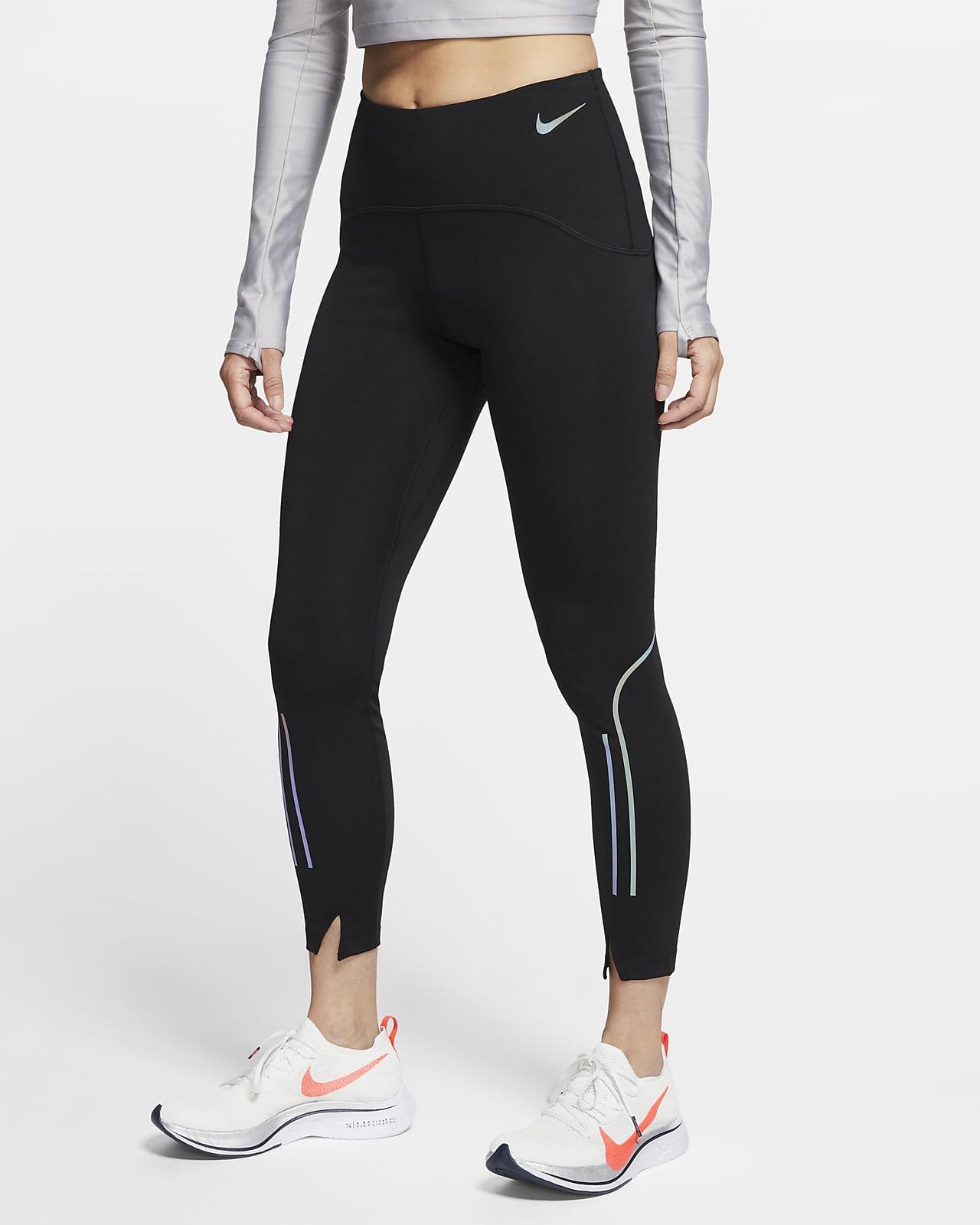 Damskie legginsy 7/8 do biegania ze średnim stanem Nike Speed
