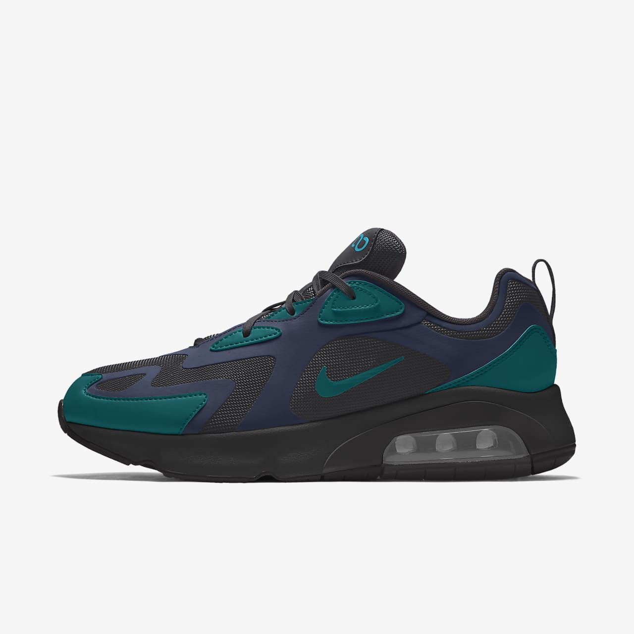 Nike Air Max 200 By You Custom Men's Shoe