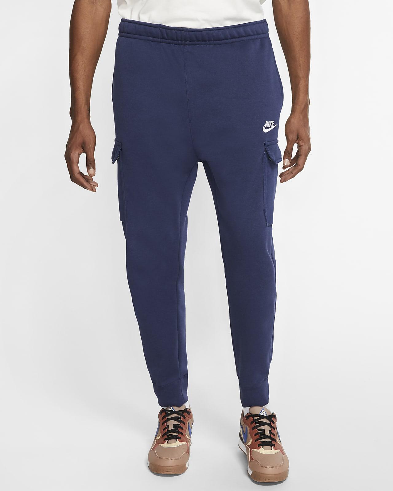Męskie spodnie cargo Nike Sportswear Club Fleece