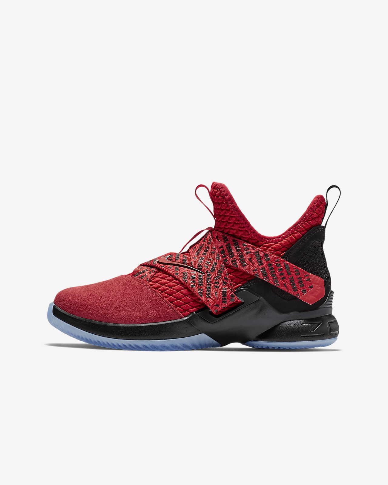 petrolero Agente Sin cabeza  LeBron Soldier XII Big Kids' Basketball Shoe. Nike.com