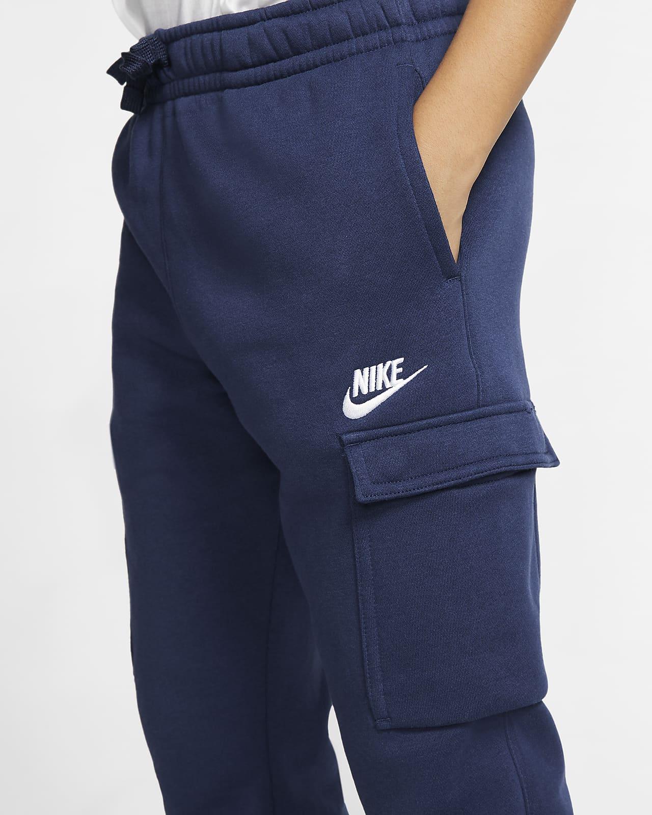 Pantalones Cargo Para Nino Talla Grande Nike Sportswear Club Nike Com