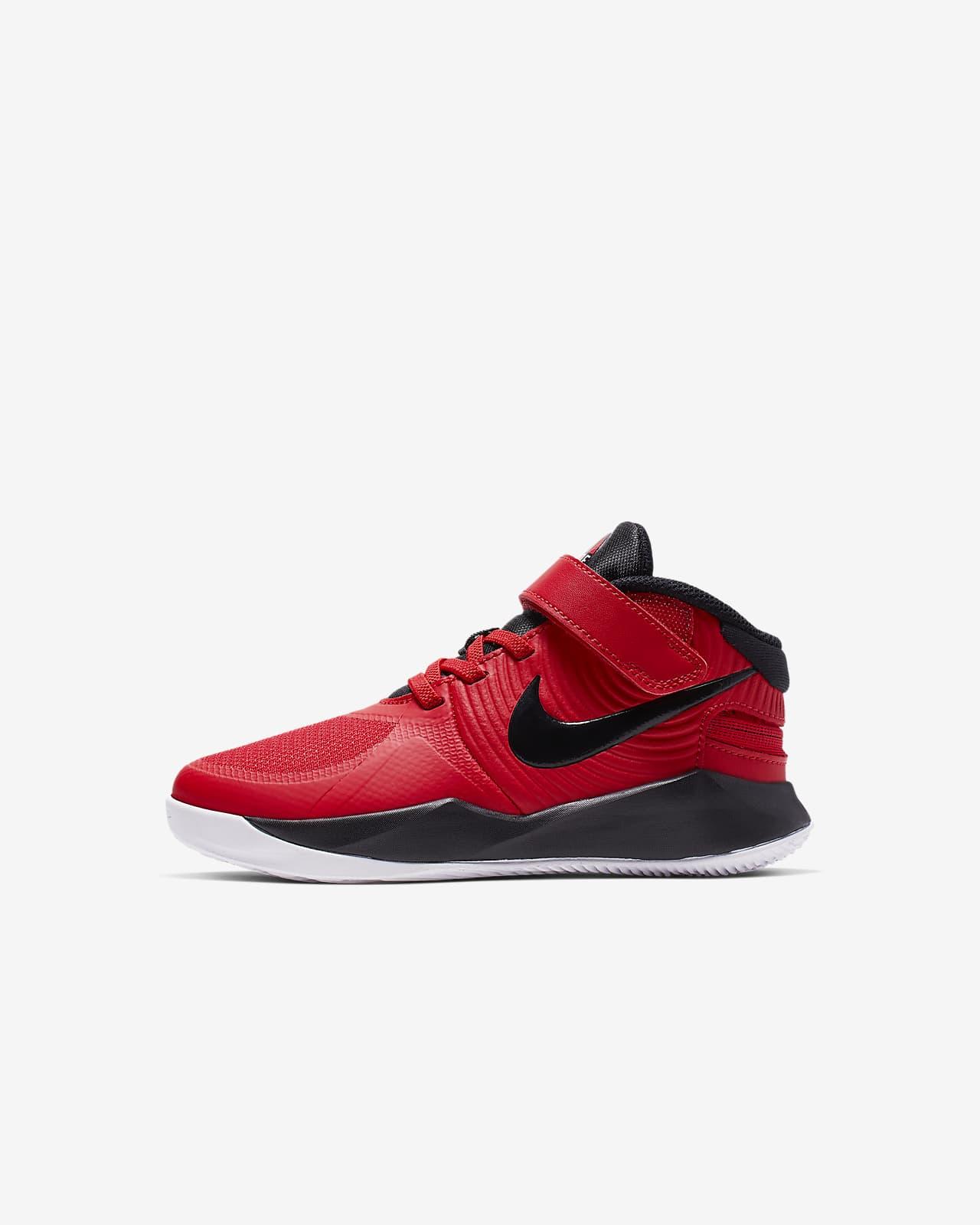 Nike Team Hustle D 9 FlyEase Younger Kids' Shoe