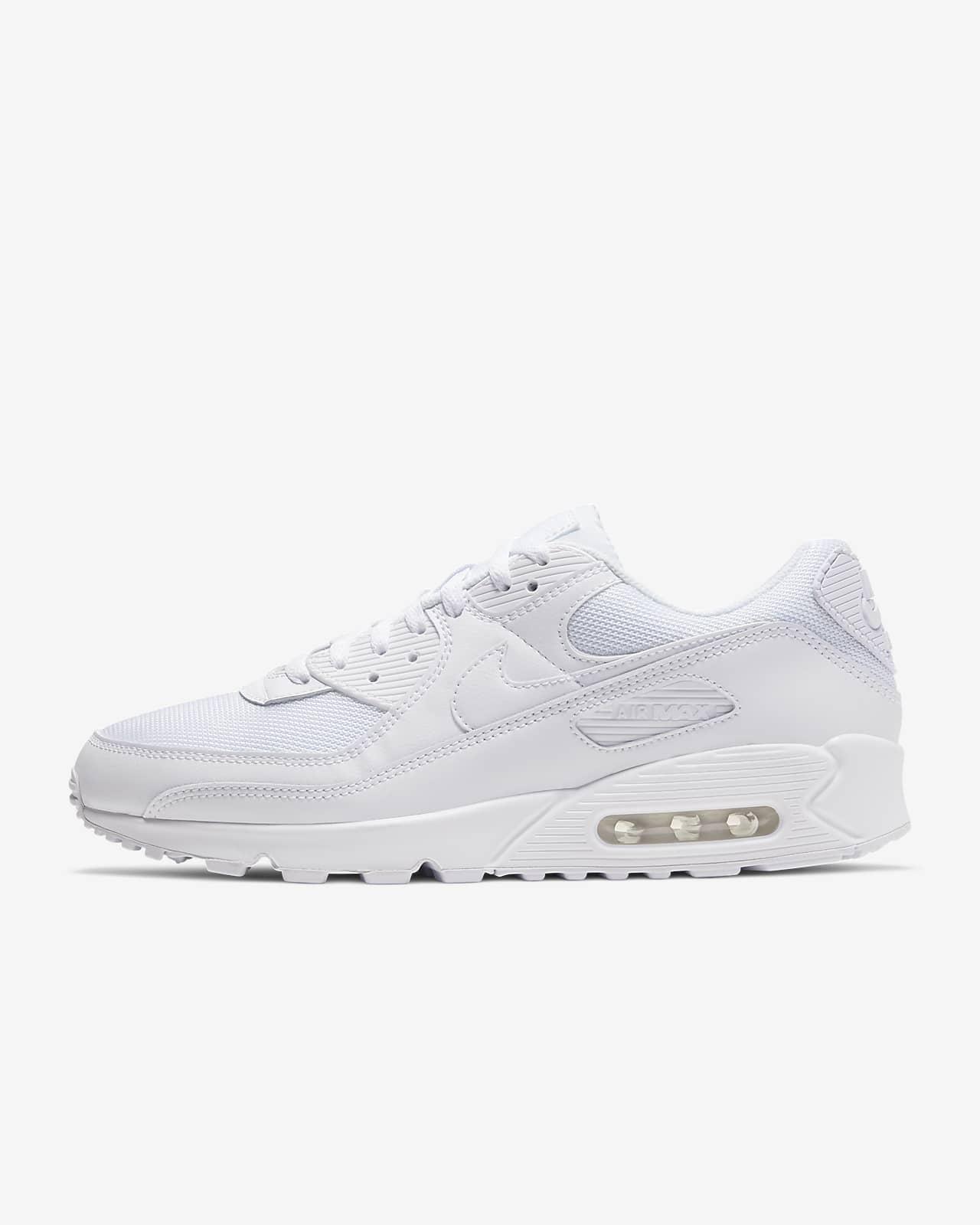 chaussures nike air max blanche