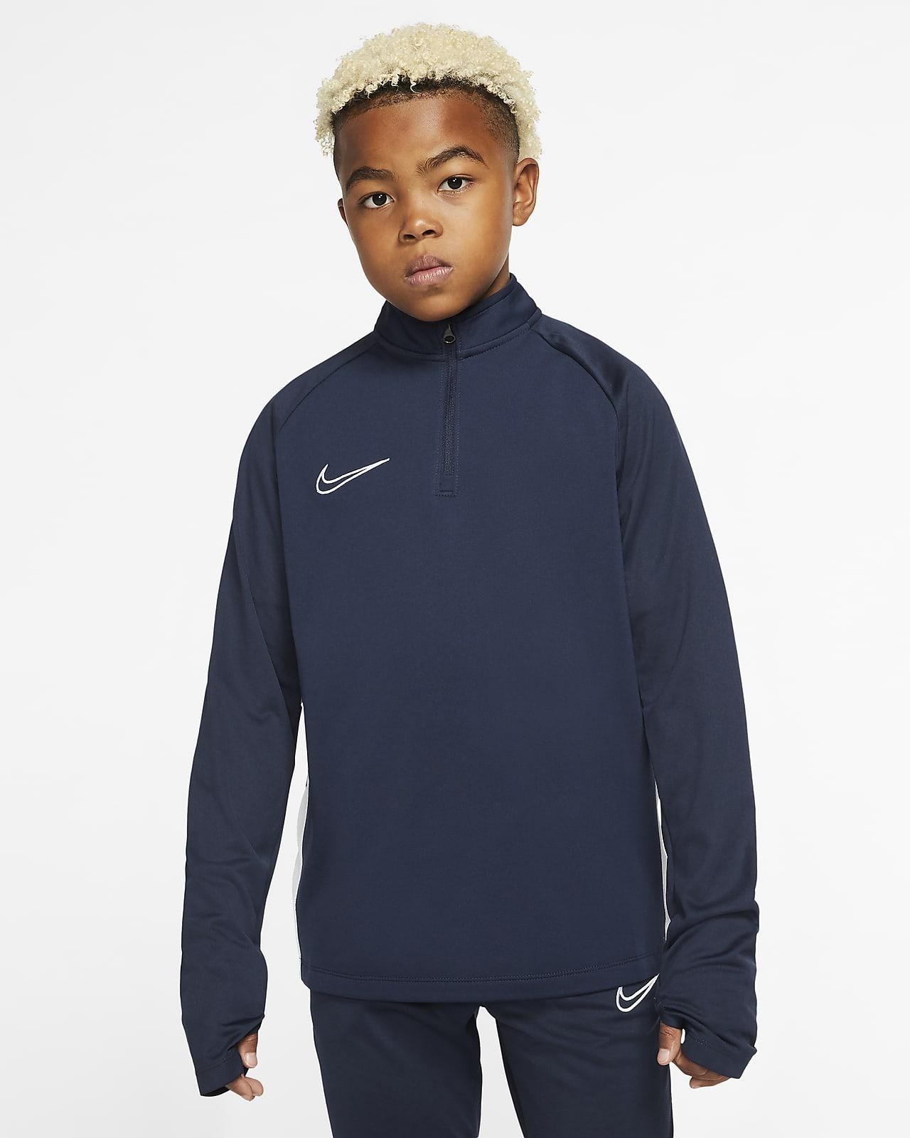 Prenda para la parte superior de entrenamiento de fútbol para niños talla grande Nike Dri-FIT Academy