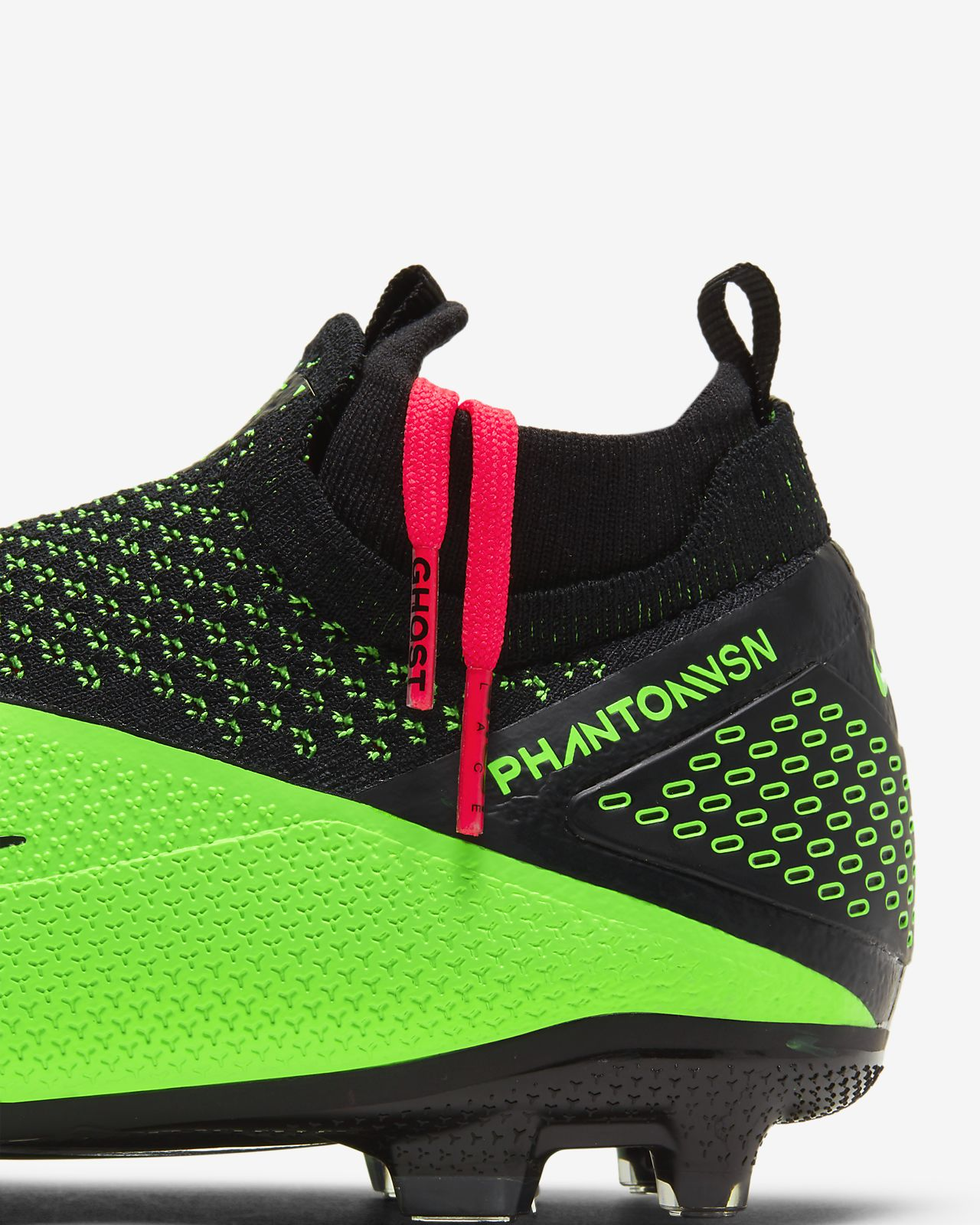 Jr. Phantom Vision 2 Elite Dynamic Fit MG fotballsko til