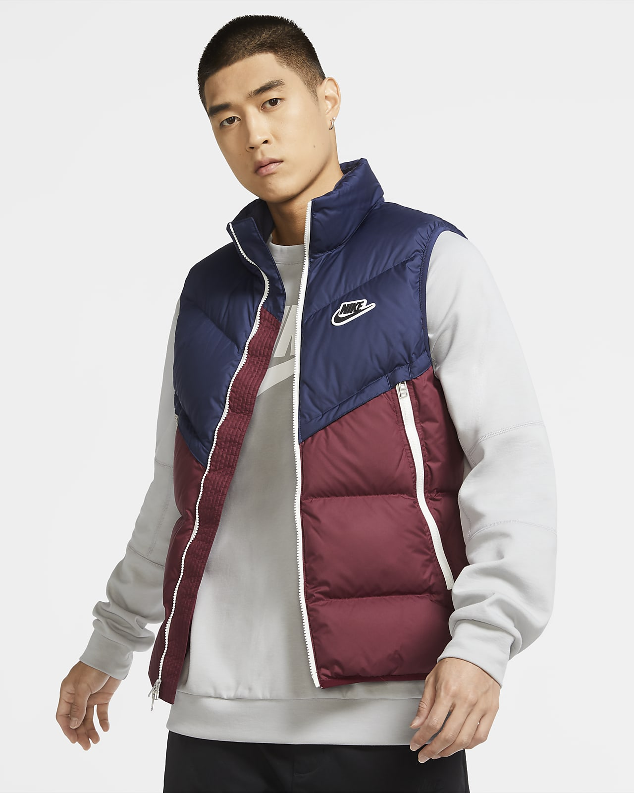 Nike Sportswear Down-Fill Windrunner Shield 男子马甲