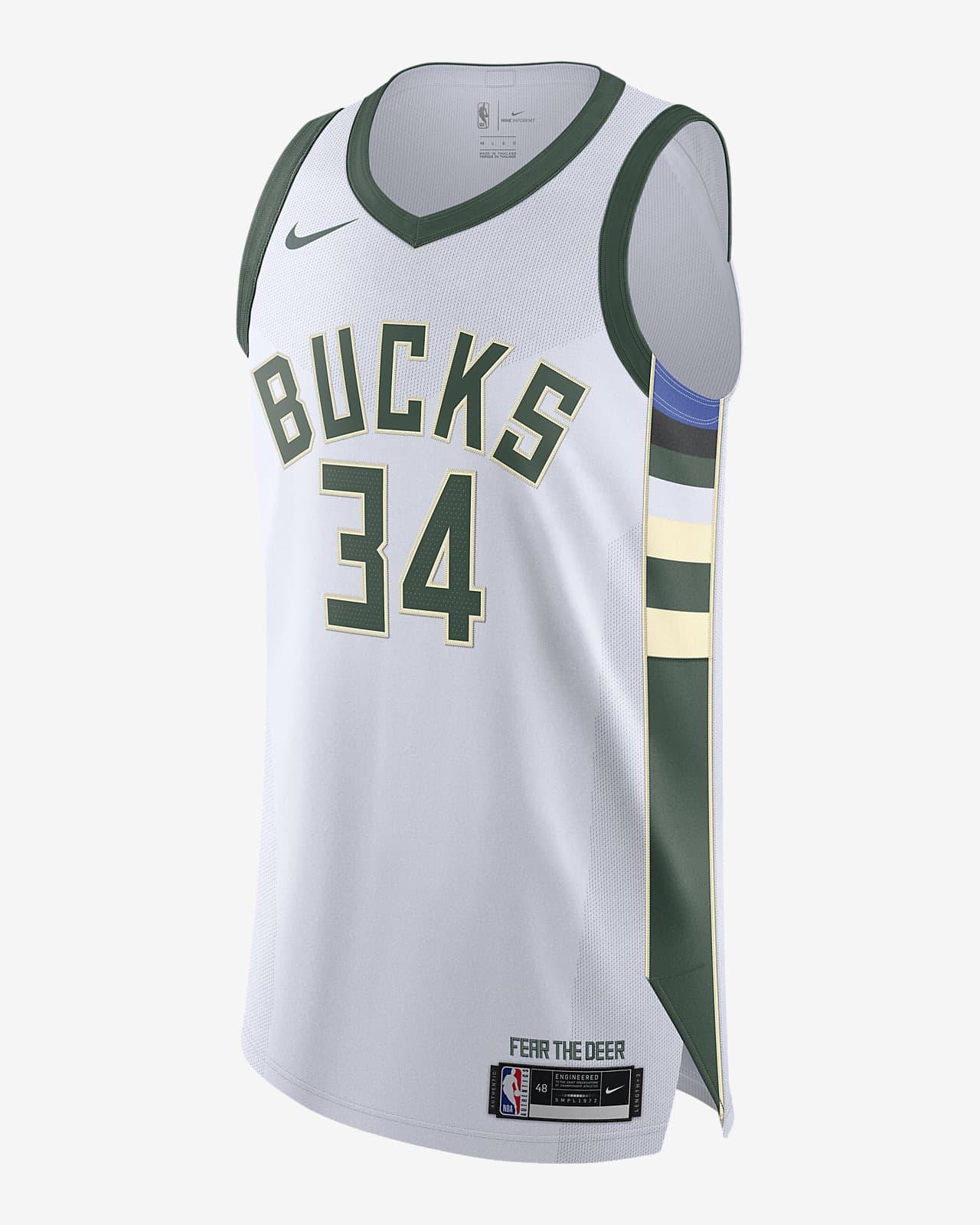 Giannis Antetokounmpo Bucks Association Edition 2020 Nike NBA Authentic Jersey
