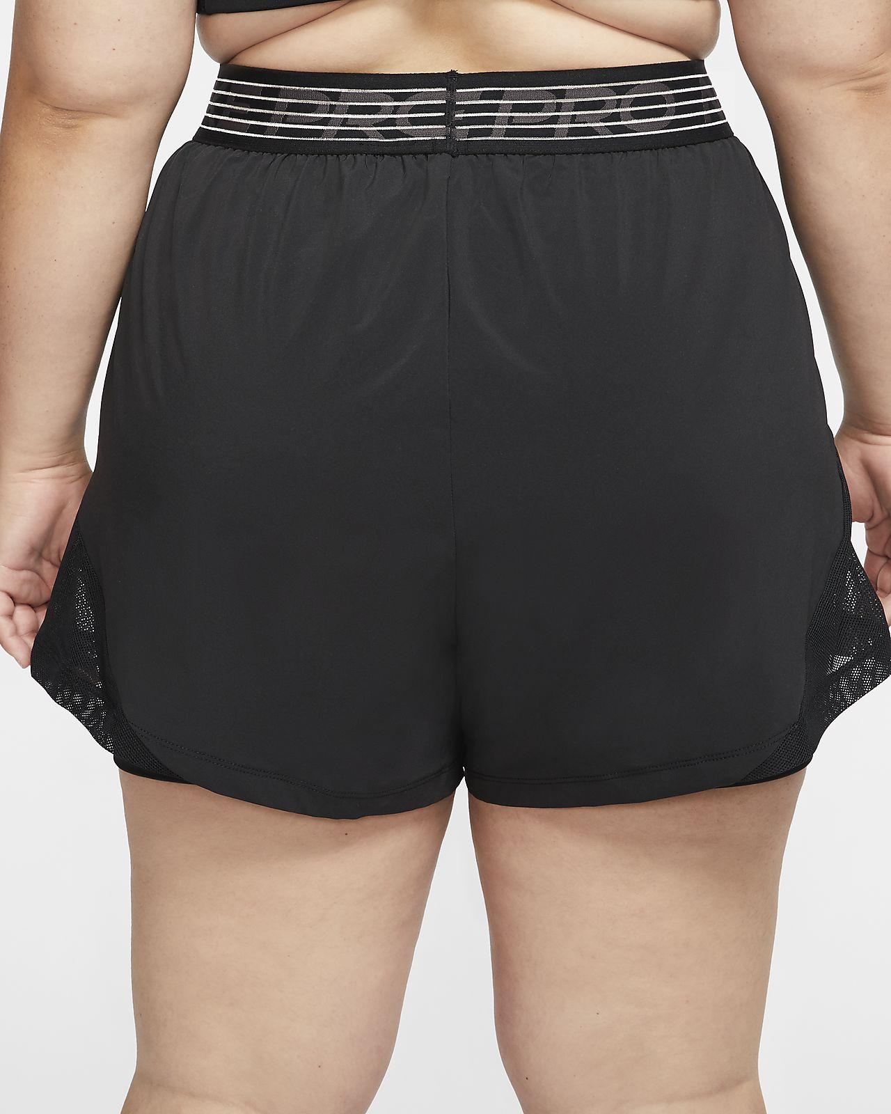Nike Pro Flex 2 i 1 shorts til dame