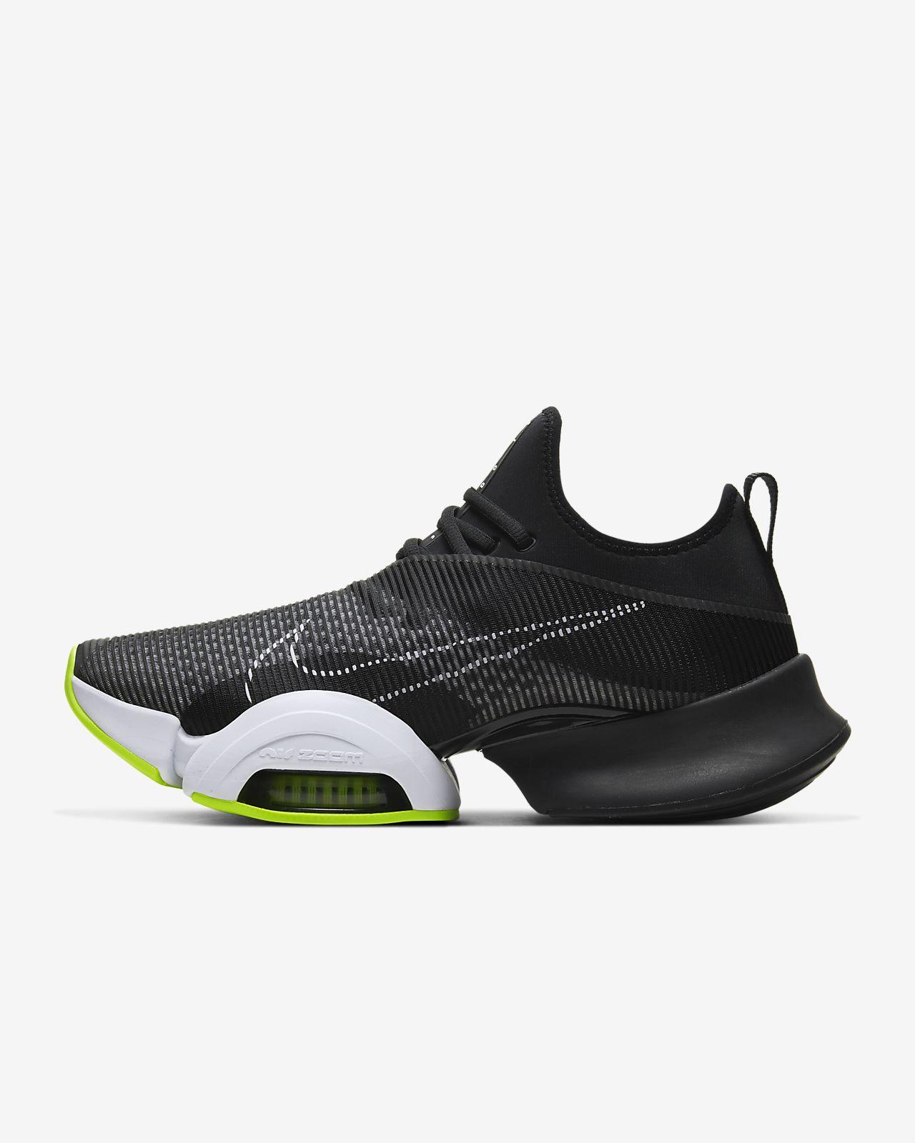 Calzado de entrenamiento de intervalos de alta densidad para hombre Nike  Air Zoom SuperRep