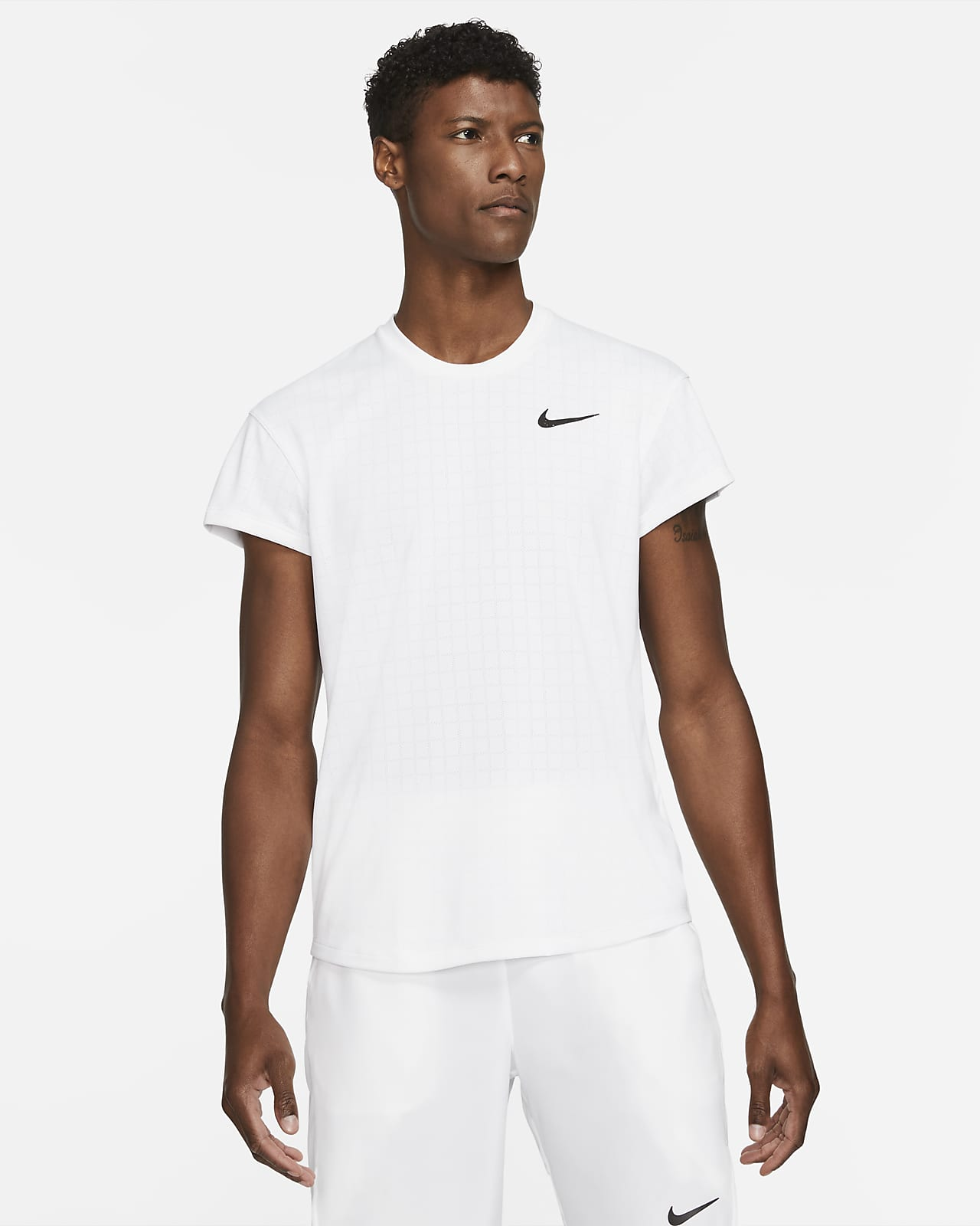 Мужская теннисная футболка NikeCourt Breathe Slam