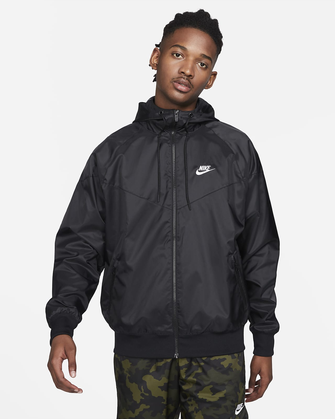 Chamarra con capucha para hombre Nike Sportswear Windrunner