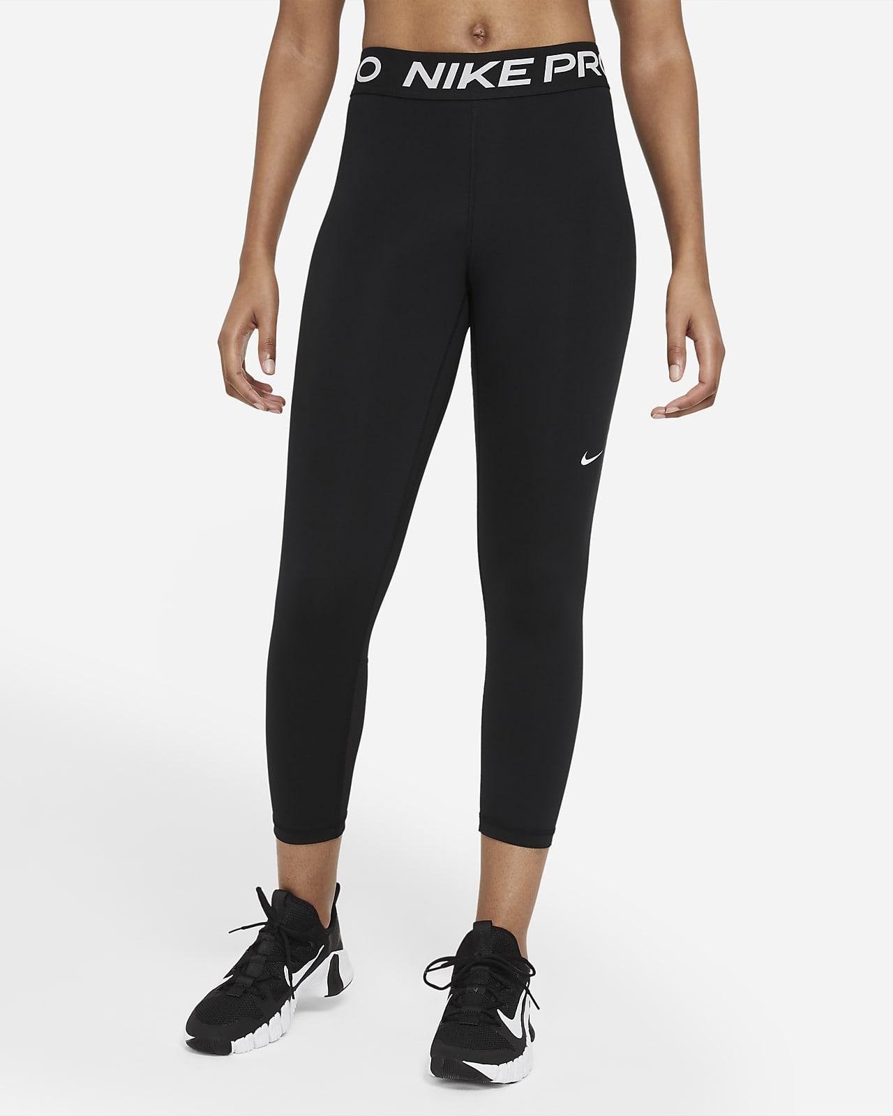 Korte Nike Pro 365-leggings med mellemhøj talje til kvinder