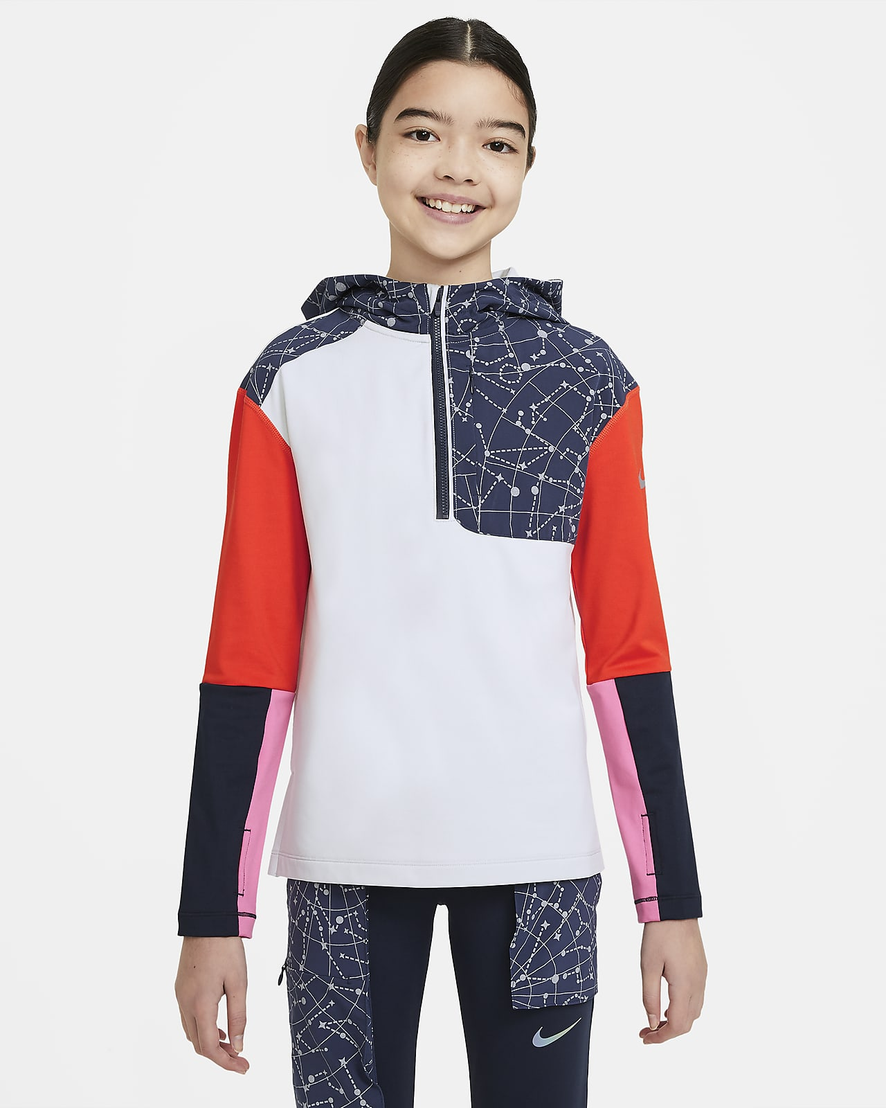 Nike Pro Tech Pack Older Kids' (Girls') Training Top