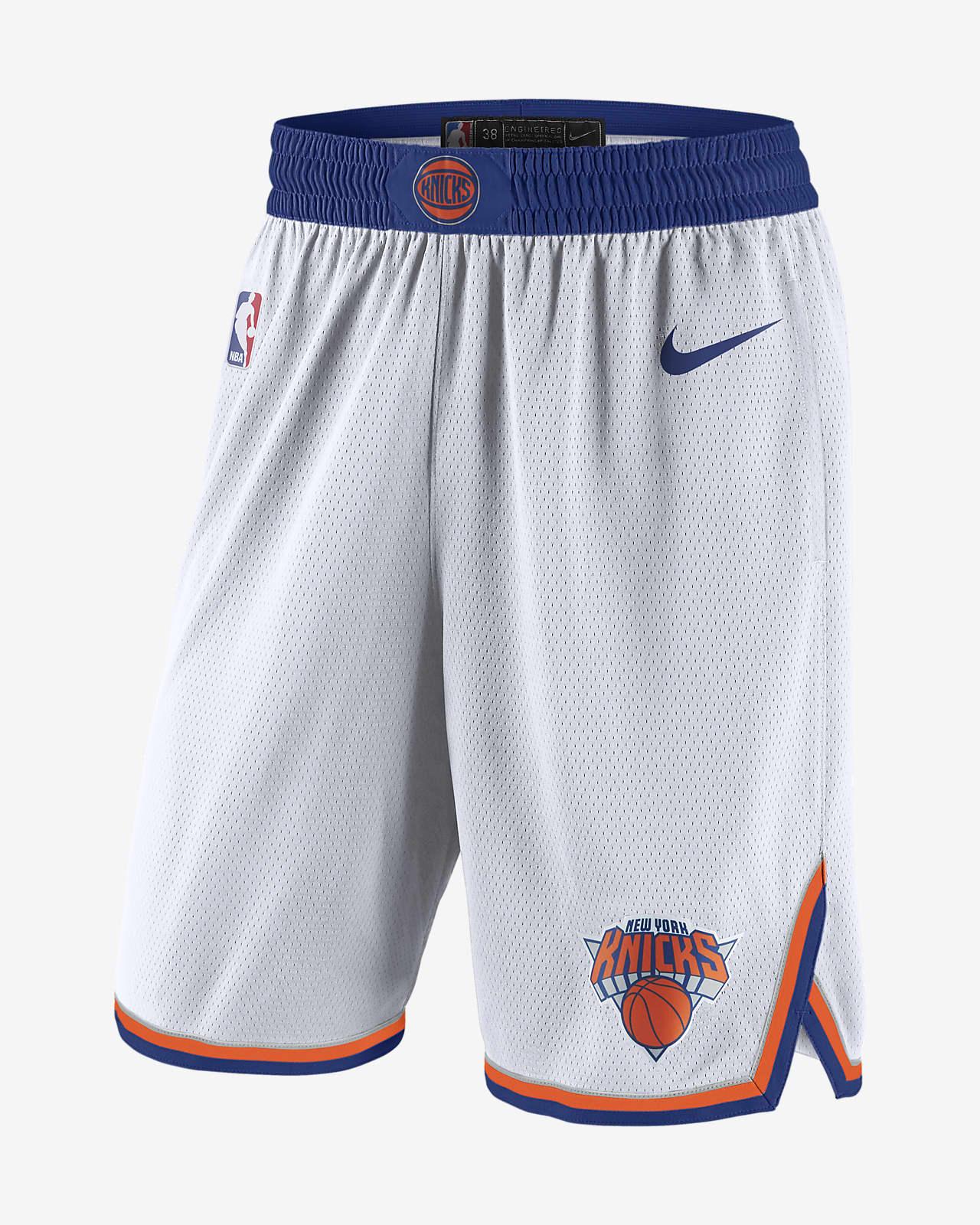 New York Knicks Men's Nike NBA Swingman Shorts