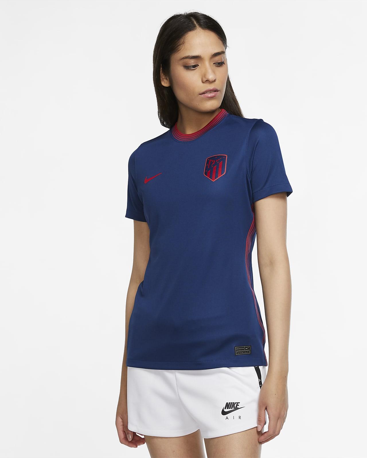 Camisola de futebol do equipamento alternativo Stadium Atlético de Madrid 2020/21 para mulher