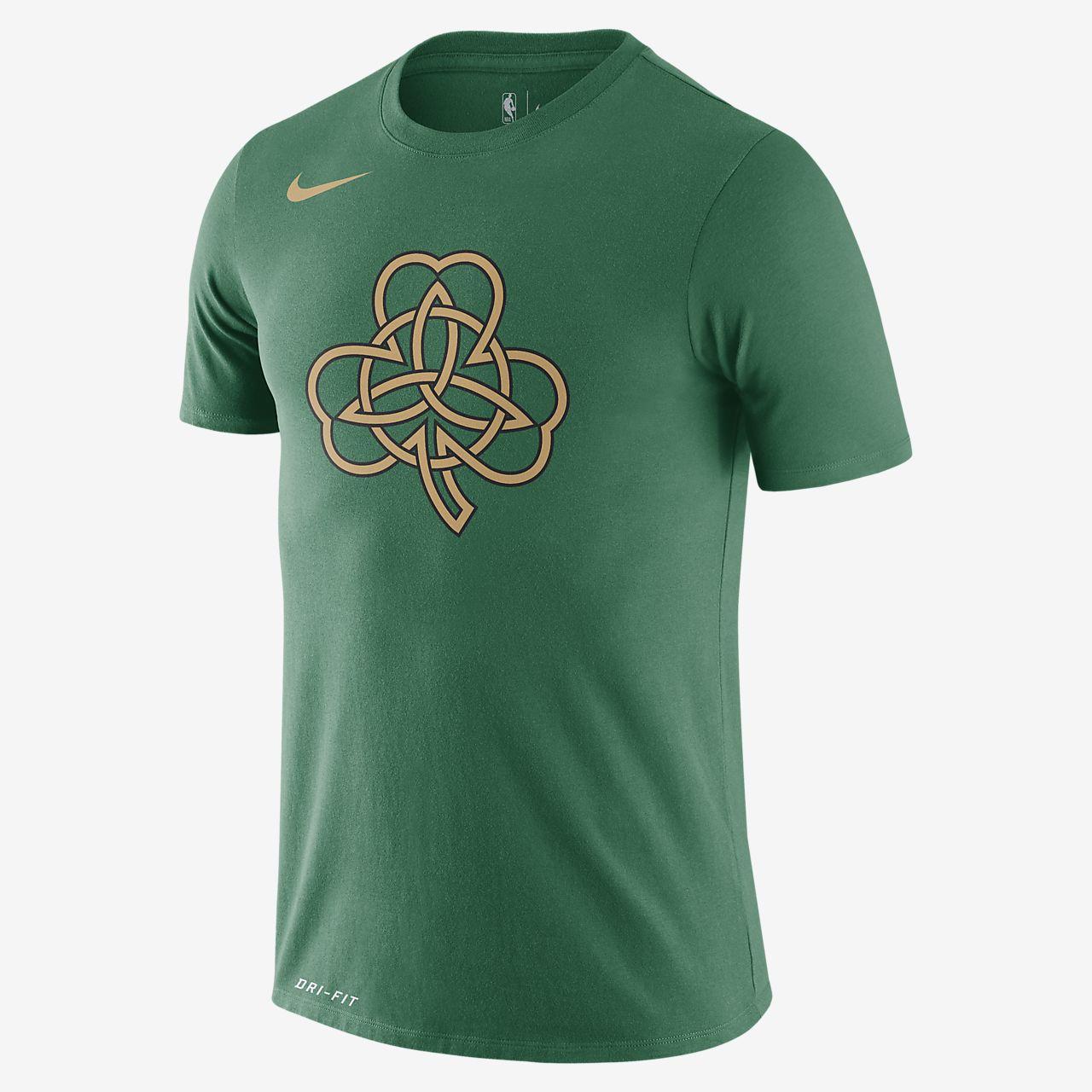 Celtics City Edition Logo Men's Nike Dri-FIT NBA T-Shirt