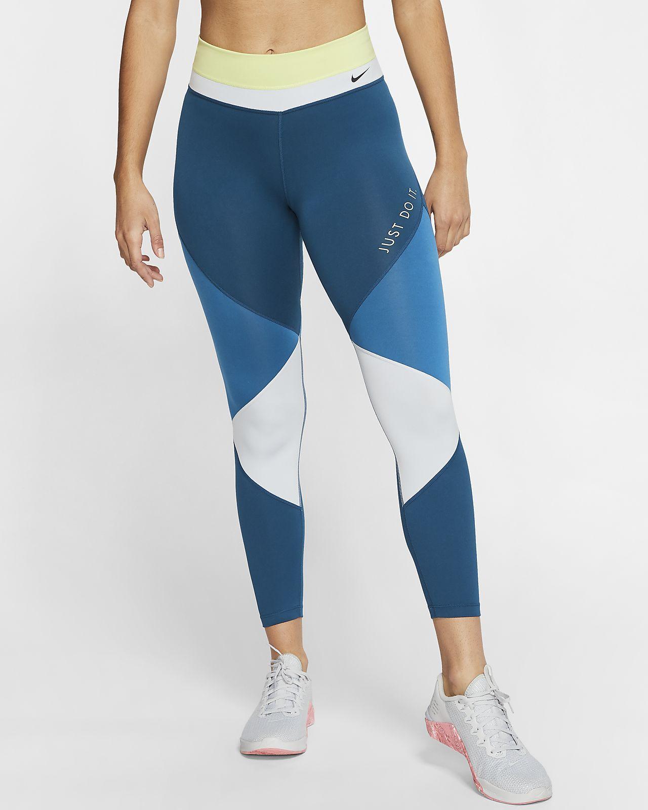 กางเกงรัดรูปผู้หญิง 7 ส่วน Nike One