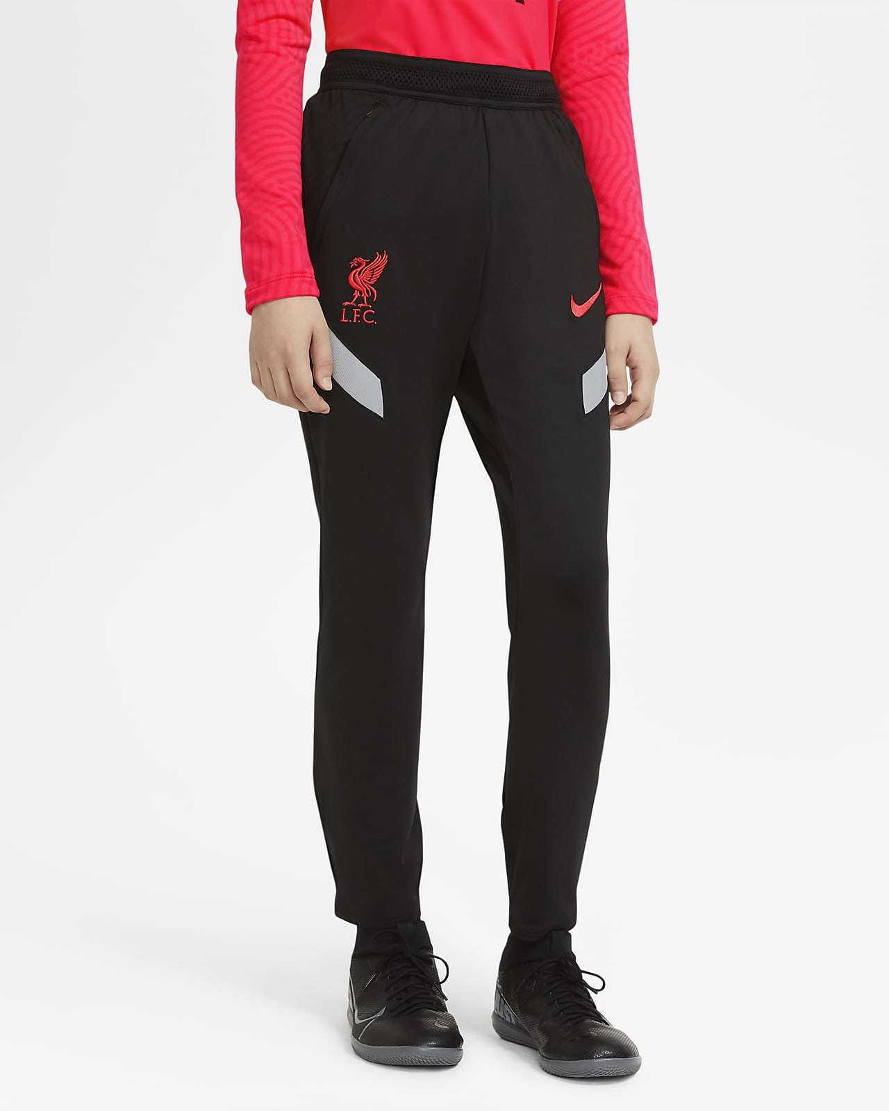 Pantalon de football Liverpool FC Strike pour Enfant plus âgé