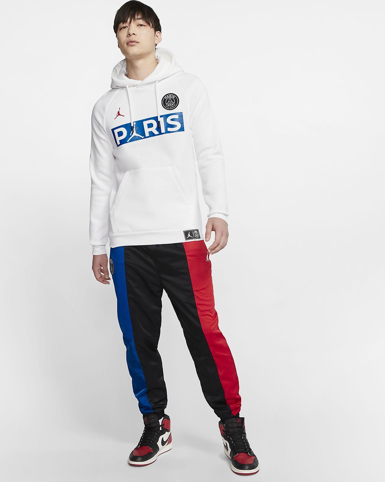 Paris Saint Germain Fleece Fußball Hoodie für Herren. Nike AT