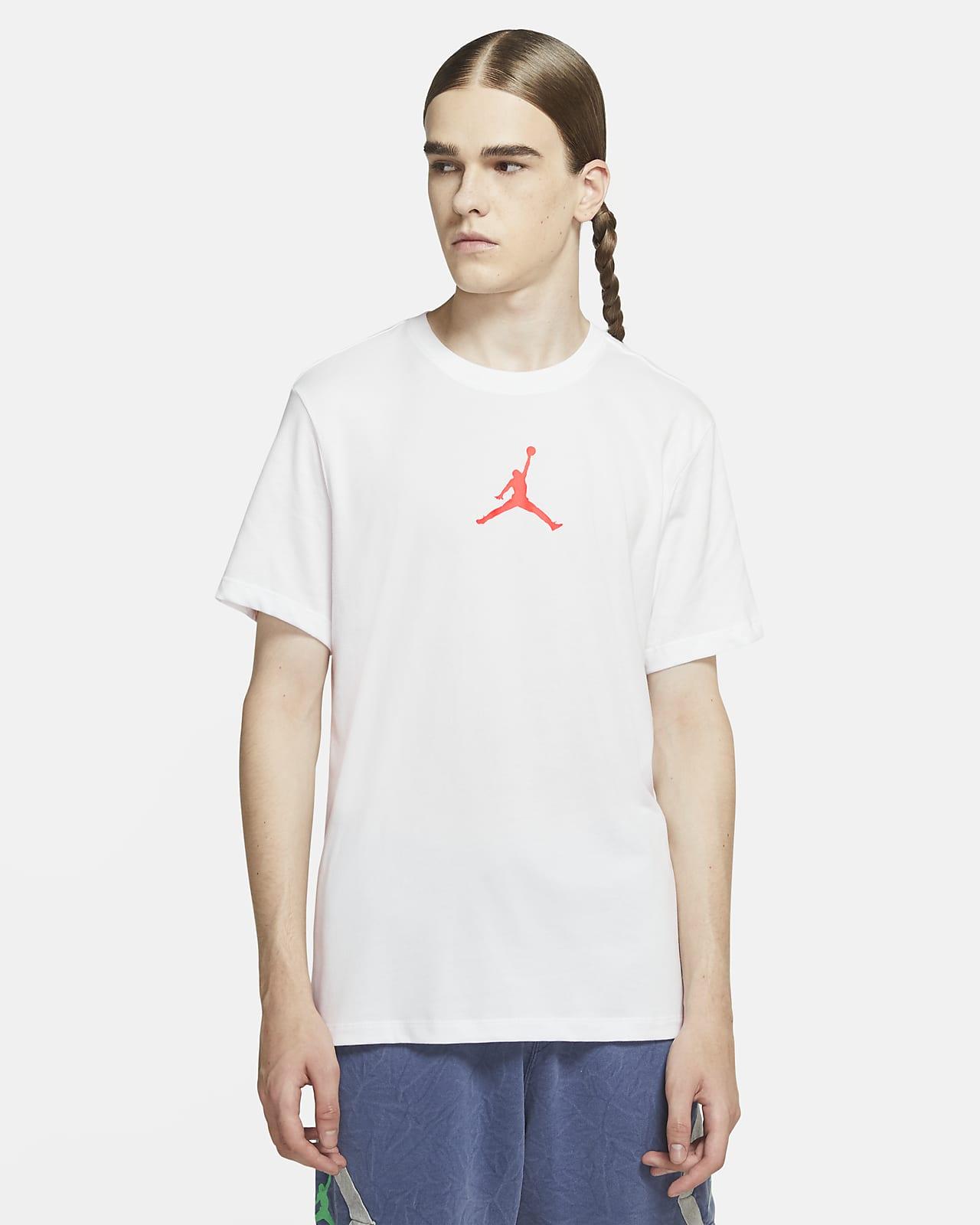 Jordan Jumpman Herenshirt met korte mouwen en ronde hals