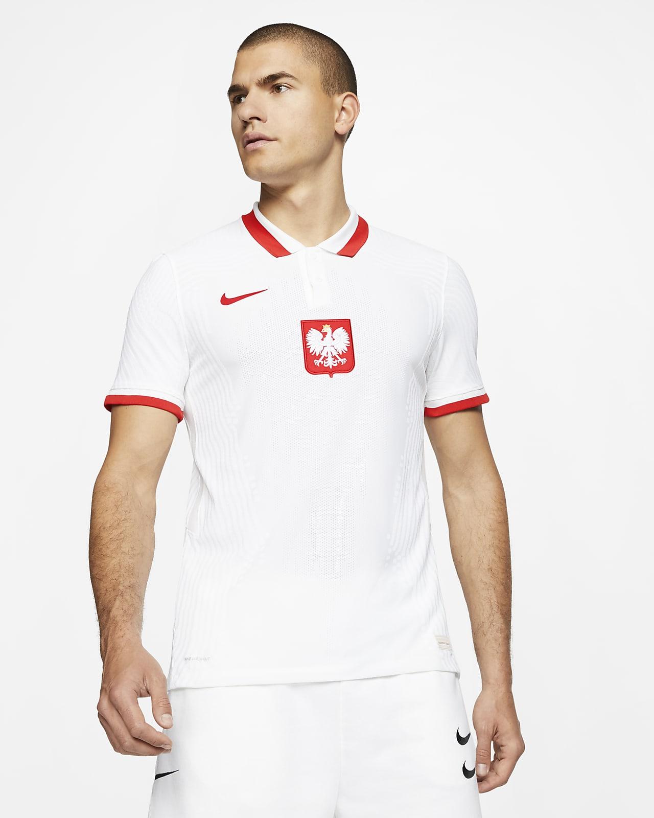 Camiseta de fútbol de local para hombre Vapor Match de Polonia 2020