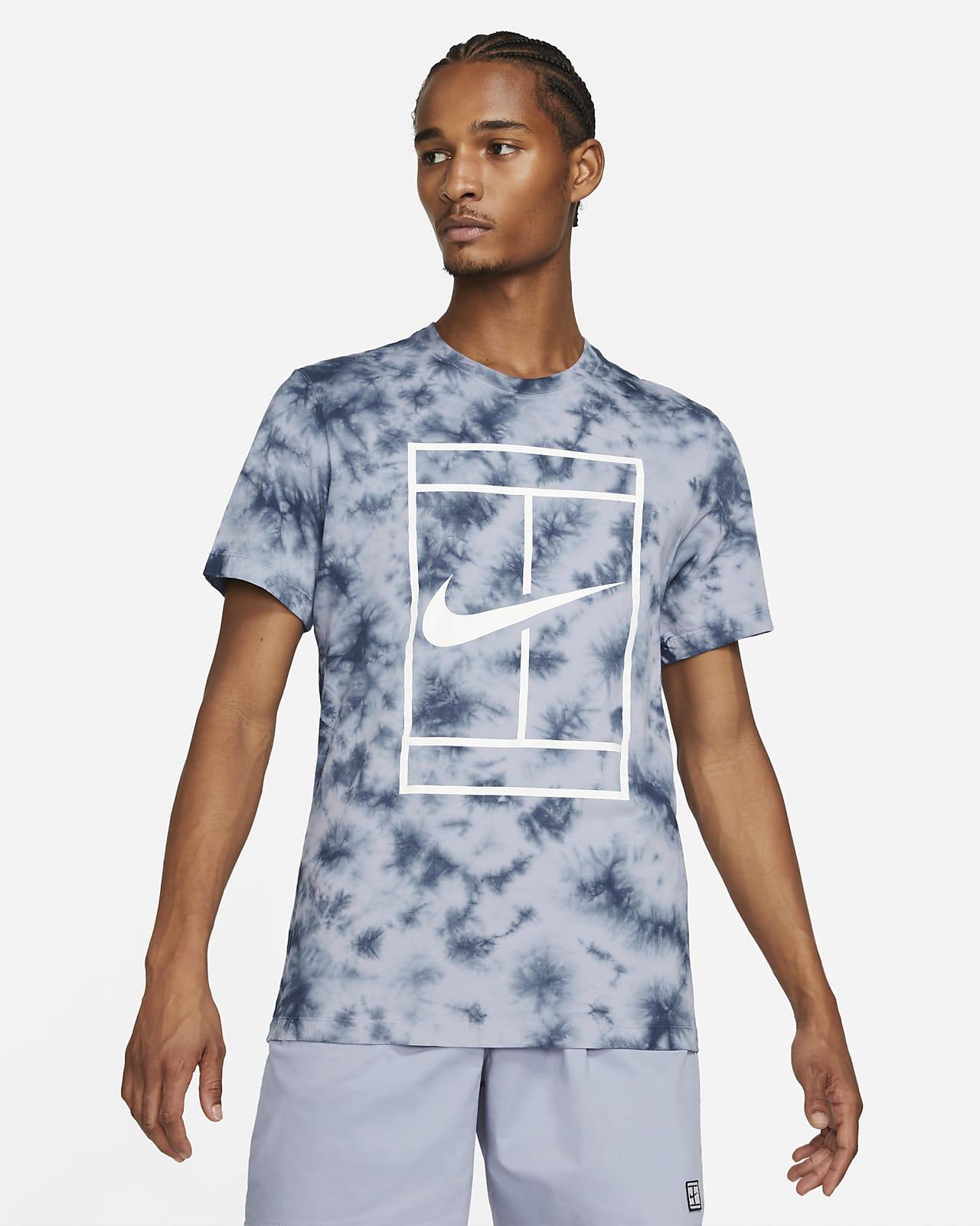 NikeCourt Men's Tie-Dye Tennis T-Shirt