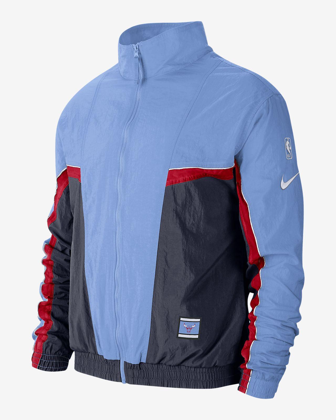 Bulls Courtside City Edition Men's Nike NBA Tracksuit Jacket