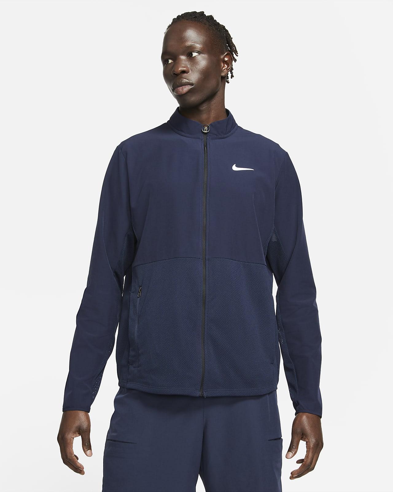 NikeCourt HyperAdapt Advantage Men's Packable Tennis Jacket