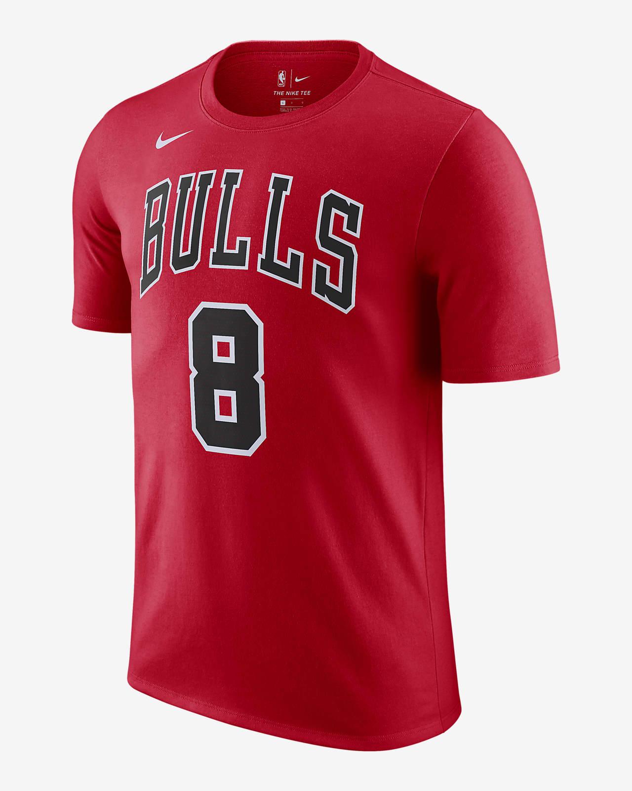 Zach LaVine Bulls Men's Nike NBA T-Shirt
