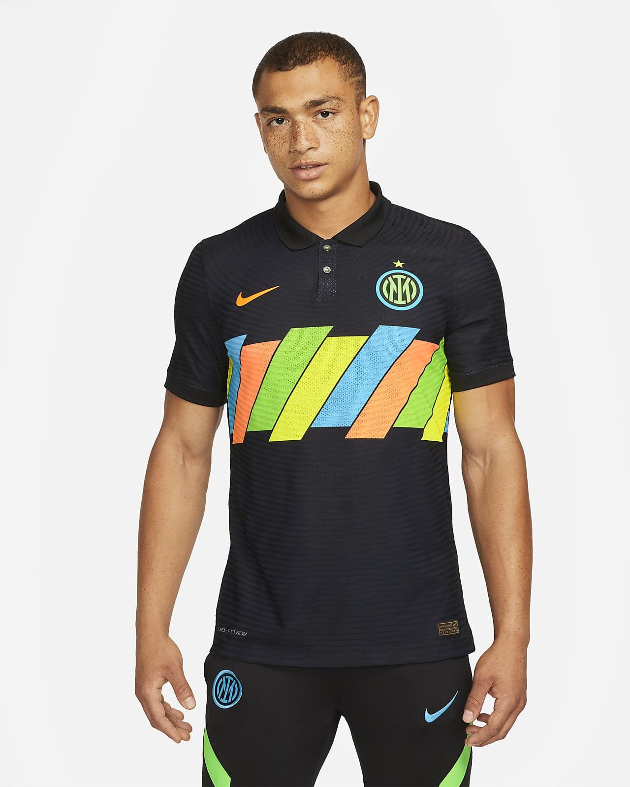 Inter Milan 2021/22 Match Nike Dri-FIT ADV Fußballtrikot für Herren