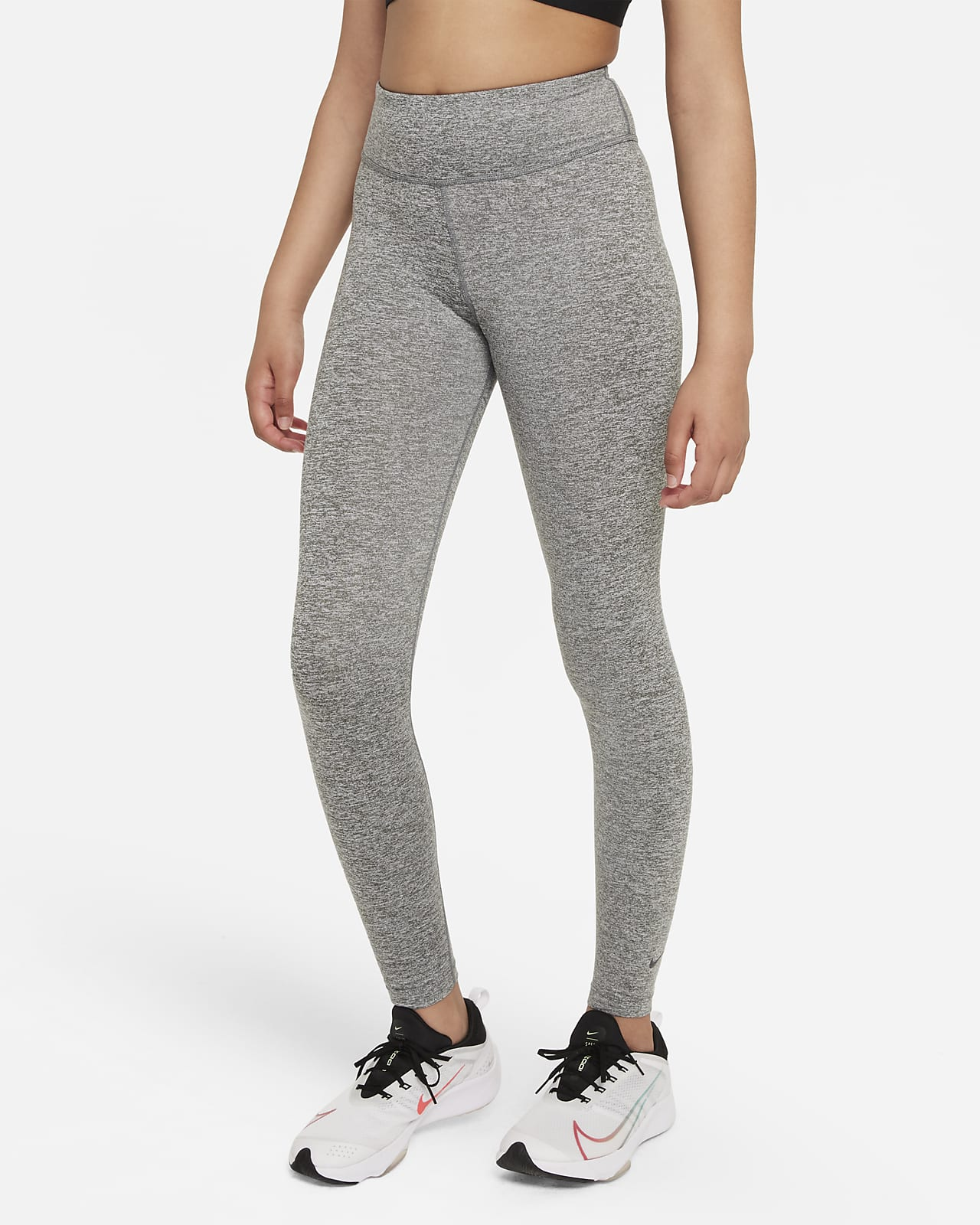 Nike Dri-FIT One Luxe Big Kids' (Girls') High-Rise Leggings