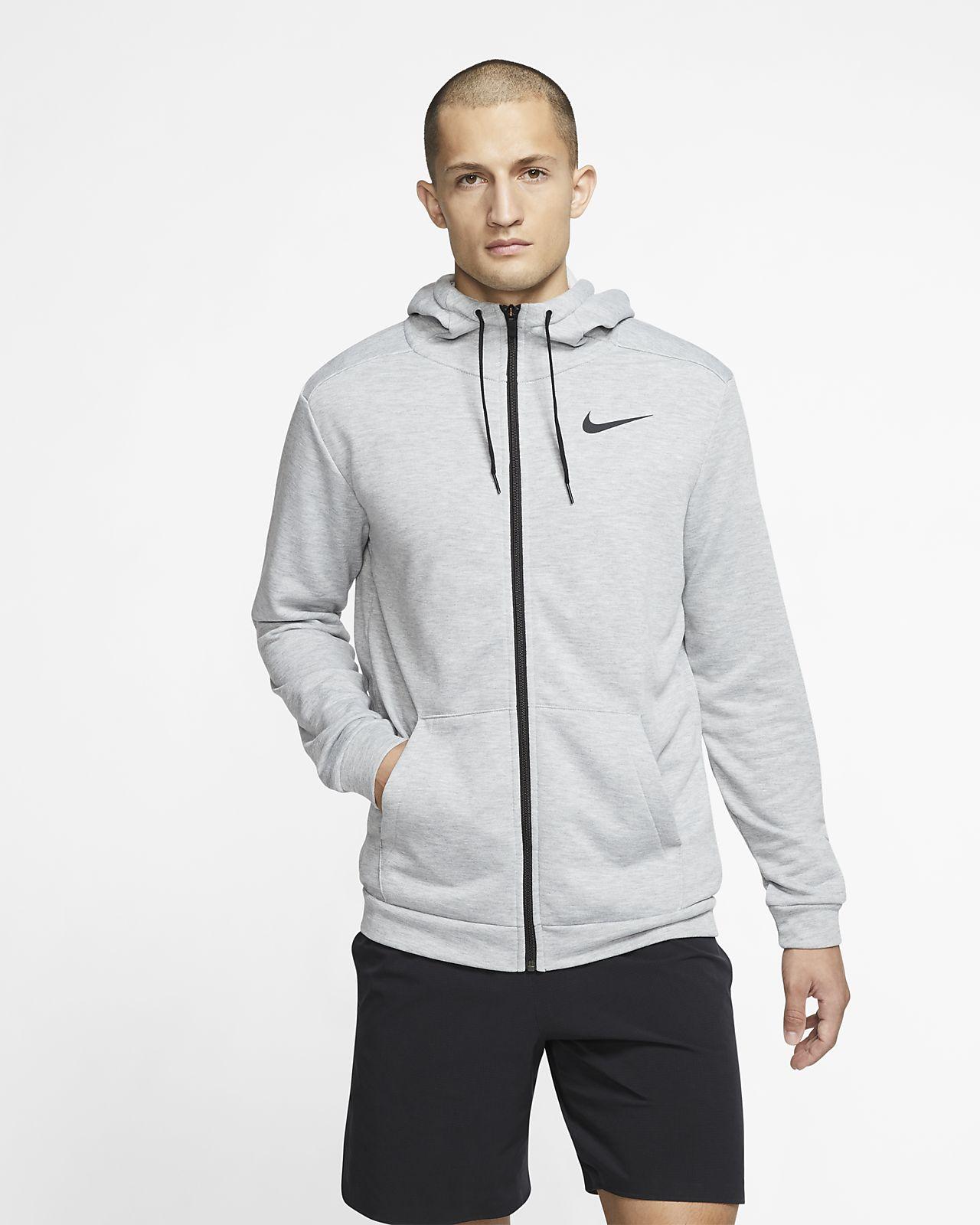 Nike Dri-FIT Full-Zip treningshettejakke for herre