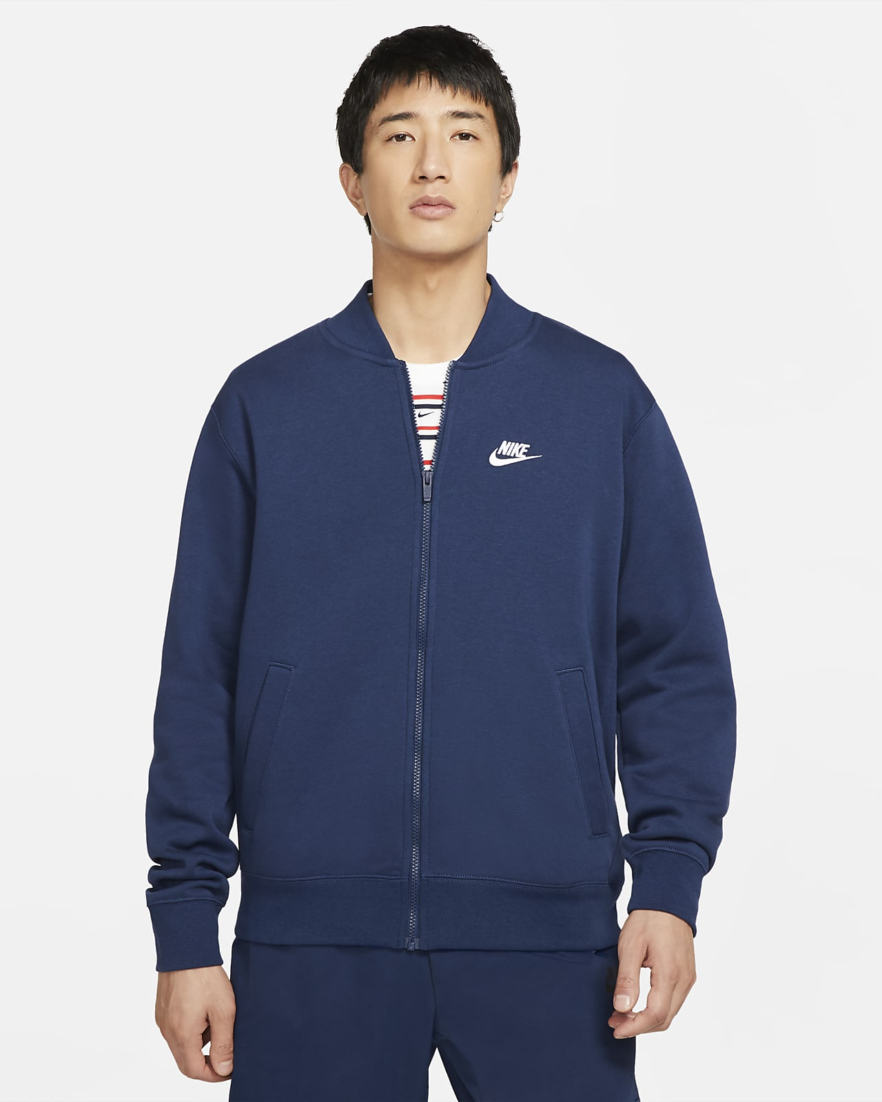 Nike Sportswear Club Fleece Jaqueta bomber - Home