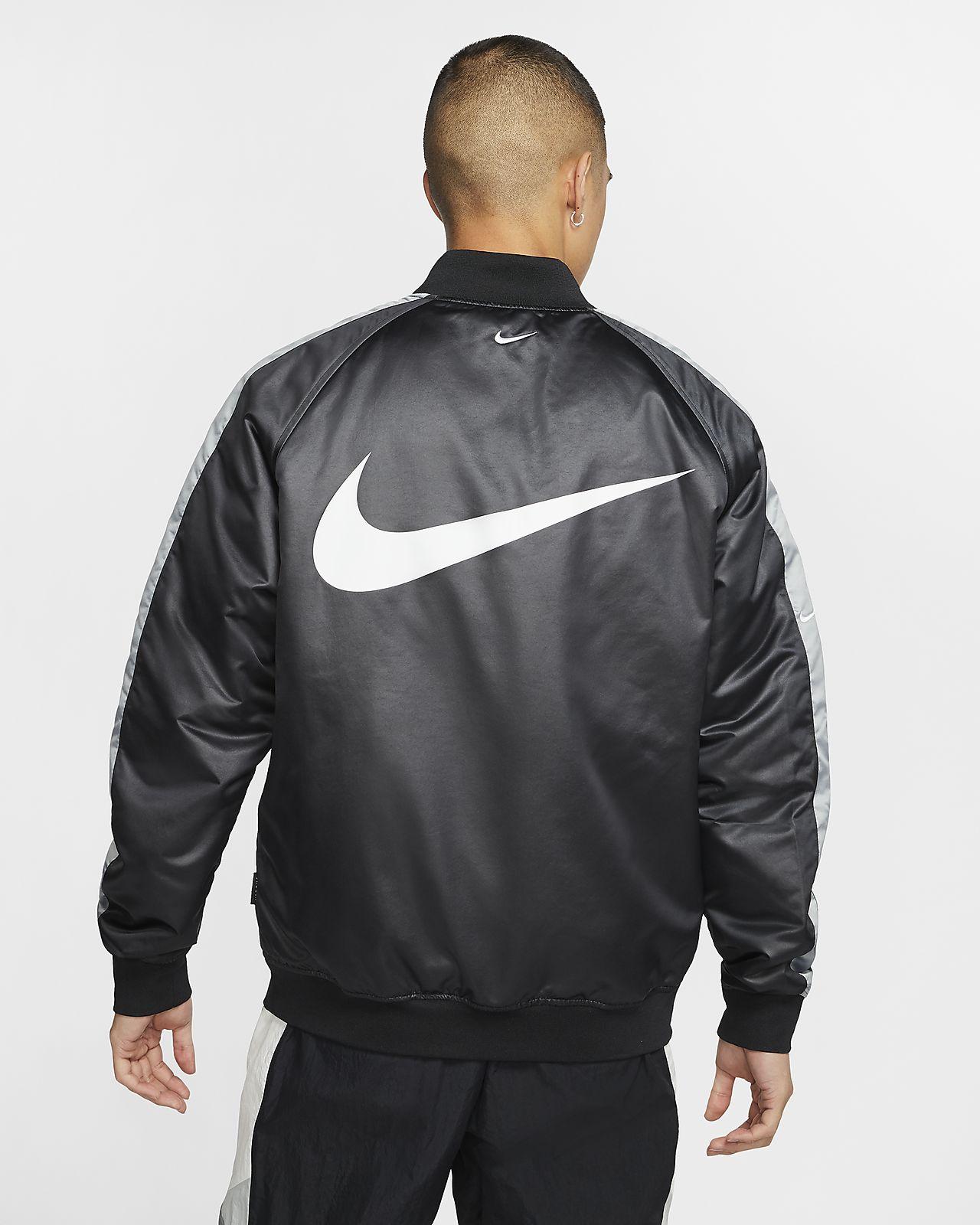 Nike Sportswear Swoosh Men's Woven Bomber Jacket