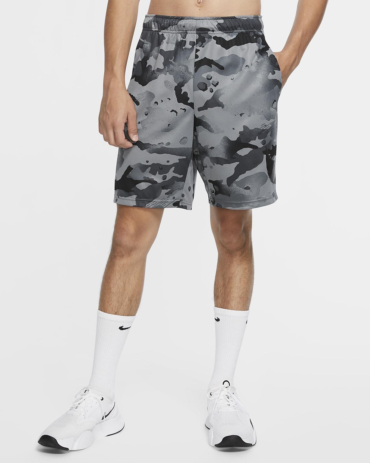 Nike Dri-FIT Pantalón corto de entrenamiento de camuflaje - Hombre