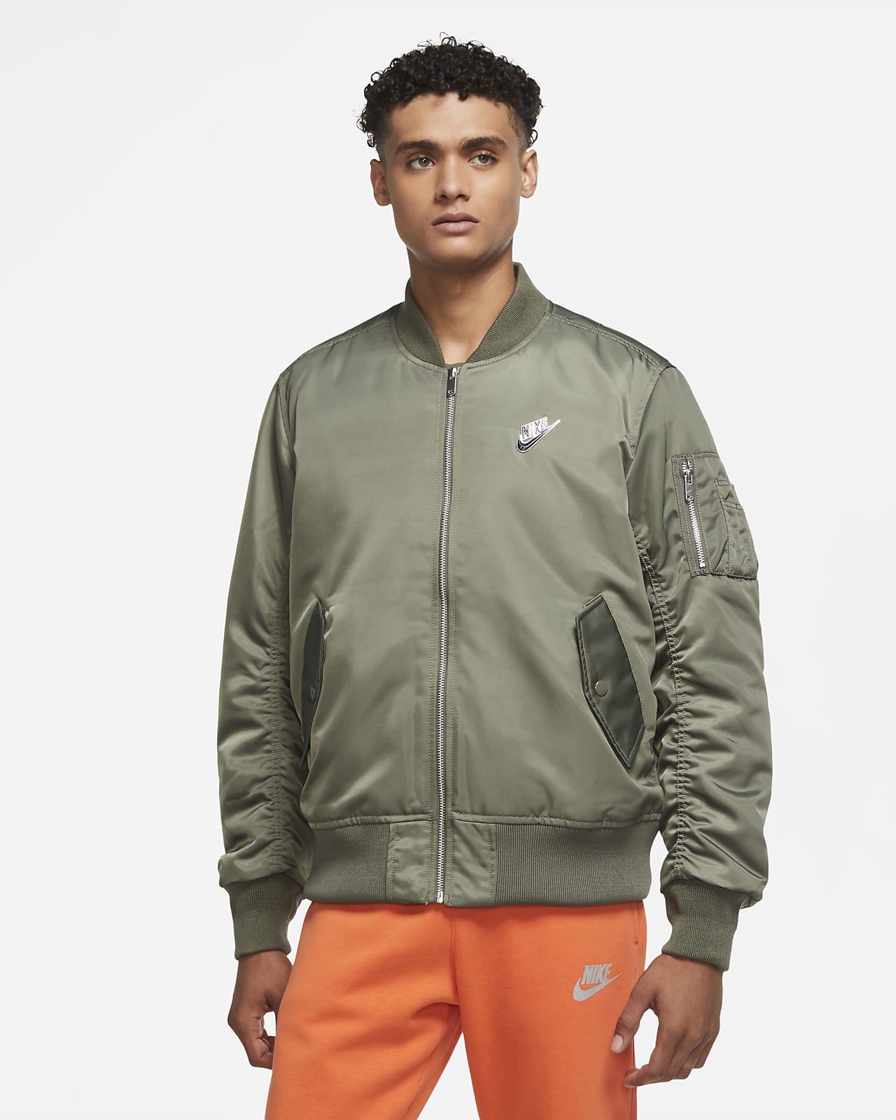 Punkig bomberjacka Nike Sportswear för män