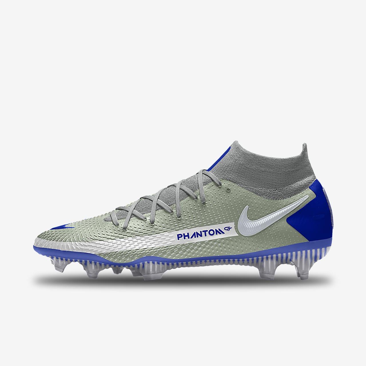 Εξατομικευμένο ποδοσφαιρικό παπούτσι για σκληρές επιφάνειες Nike Phantom GT Elite By You
