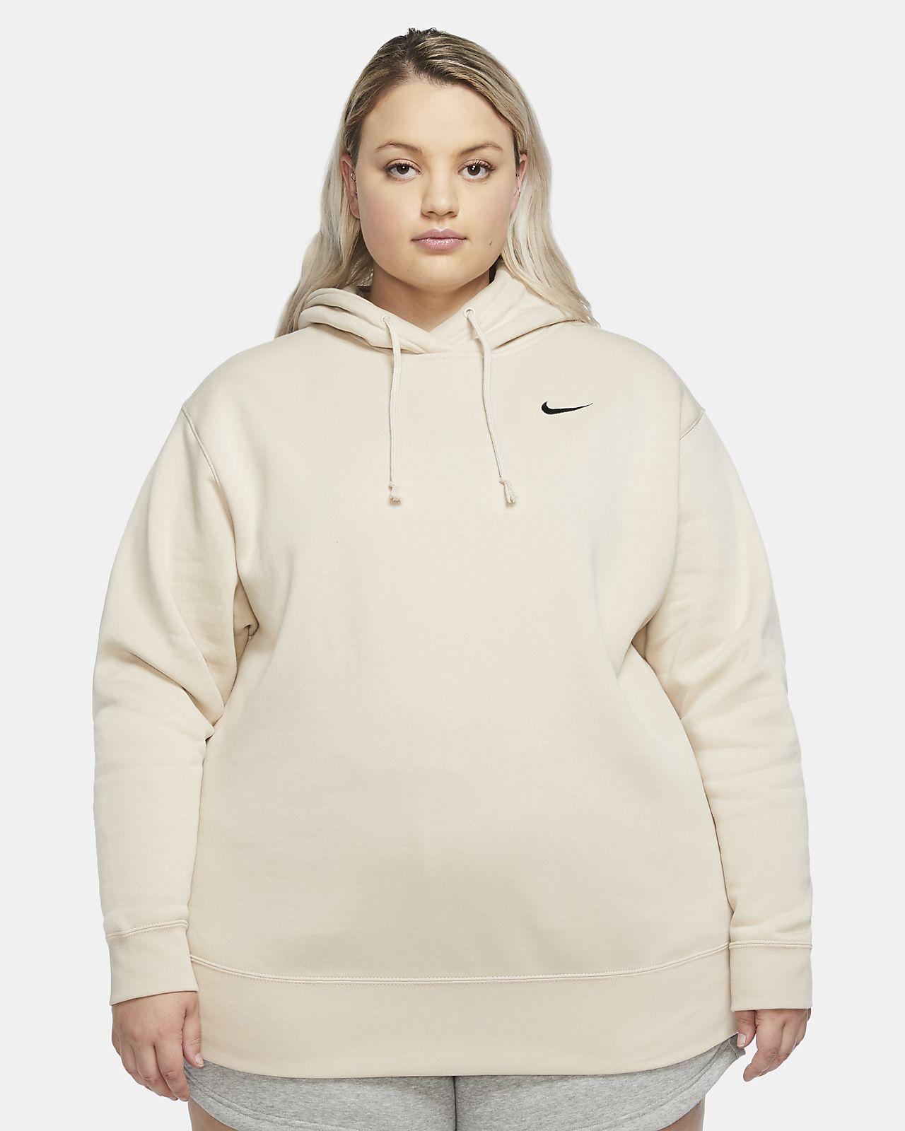 Maglia in fleece Nike Sportswear (Plus Size) - Donna