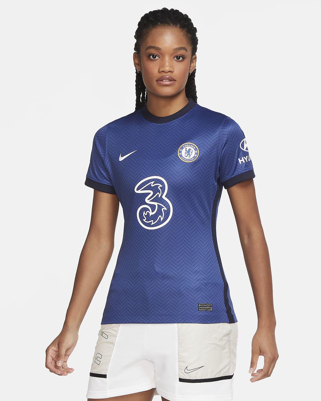 Fotbollströja Chelsea FC 2020/21 Stadium (hemmaställ) för kvinnor